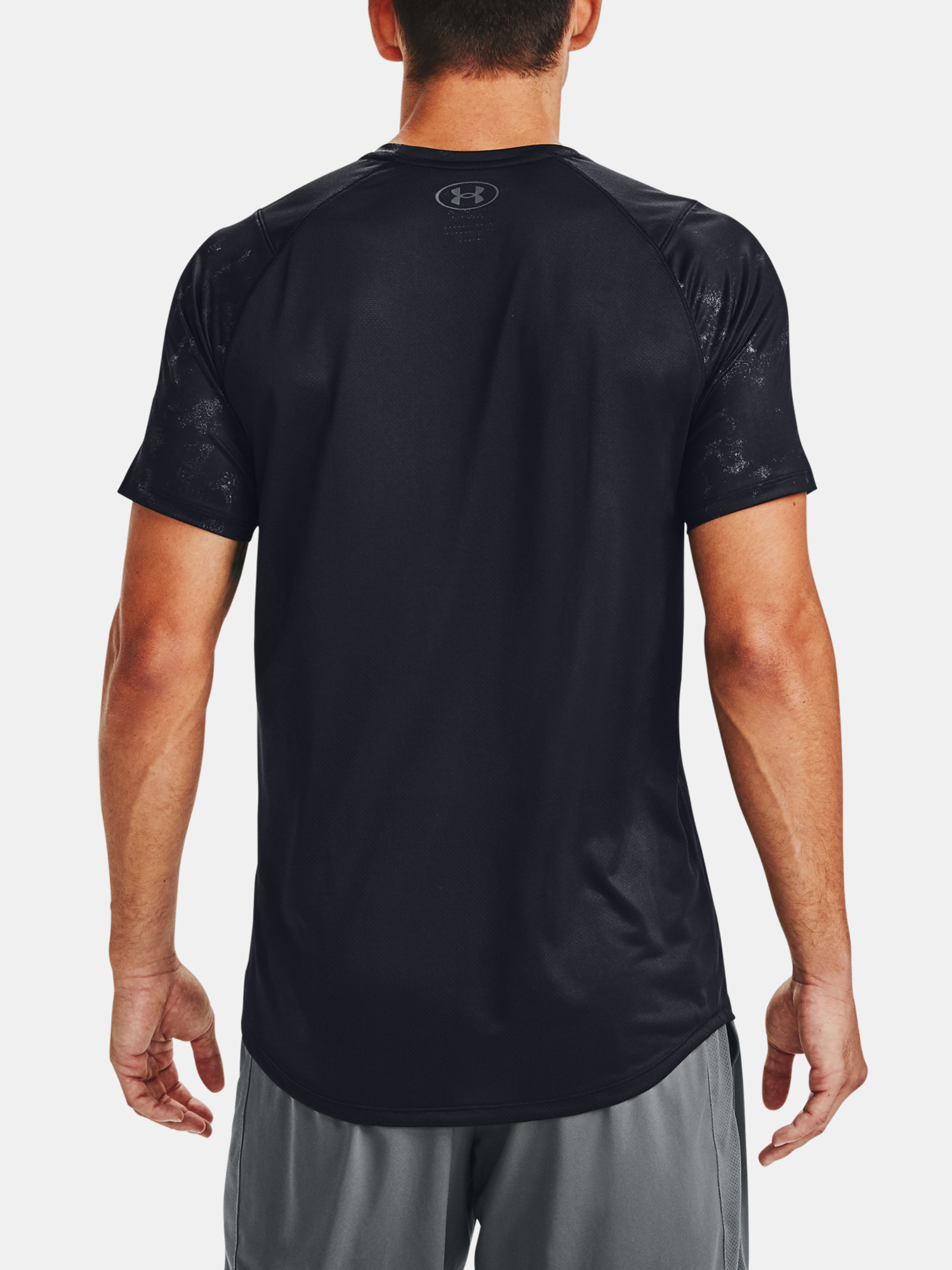 Tričko Under Armour MK-1 Graphic SS-BLK (2)
