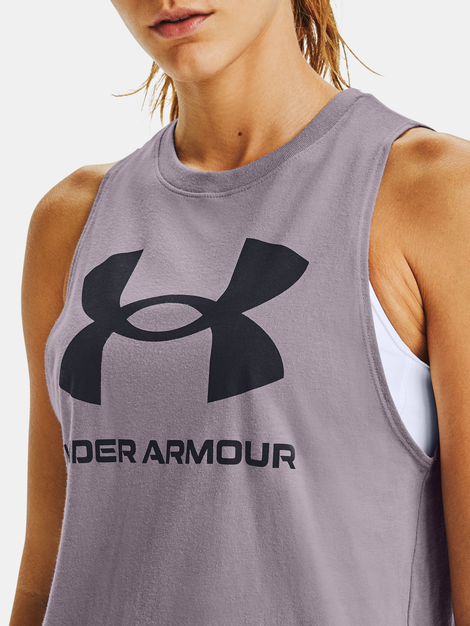 Tielko Under Armour Sportstyle Graphic Tank (5)