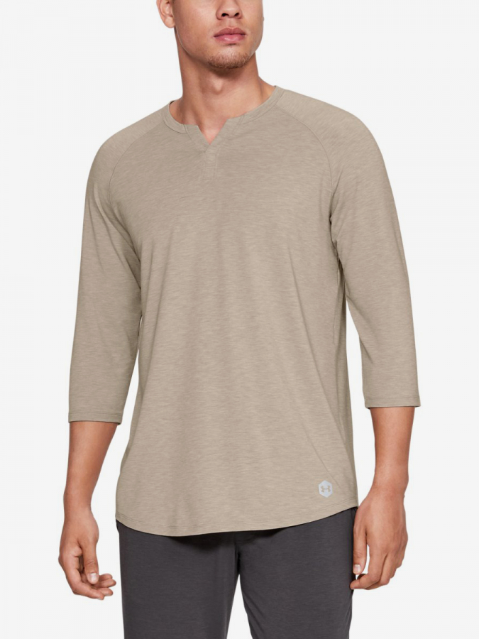 Tričko Under Armour Recover Sleepwear Henley (1)
