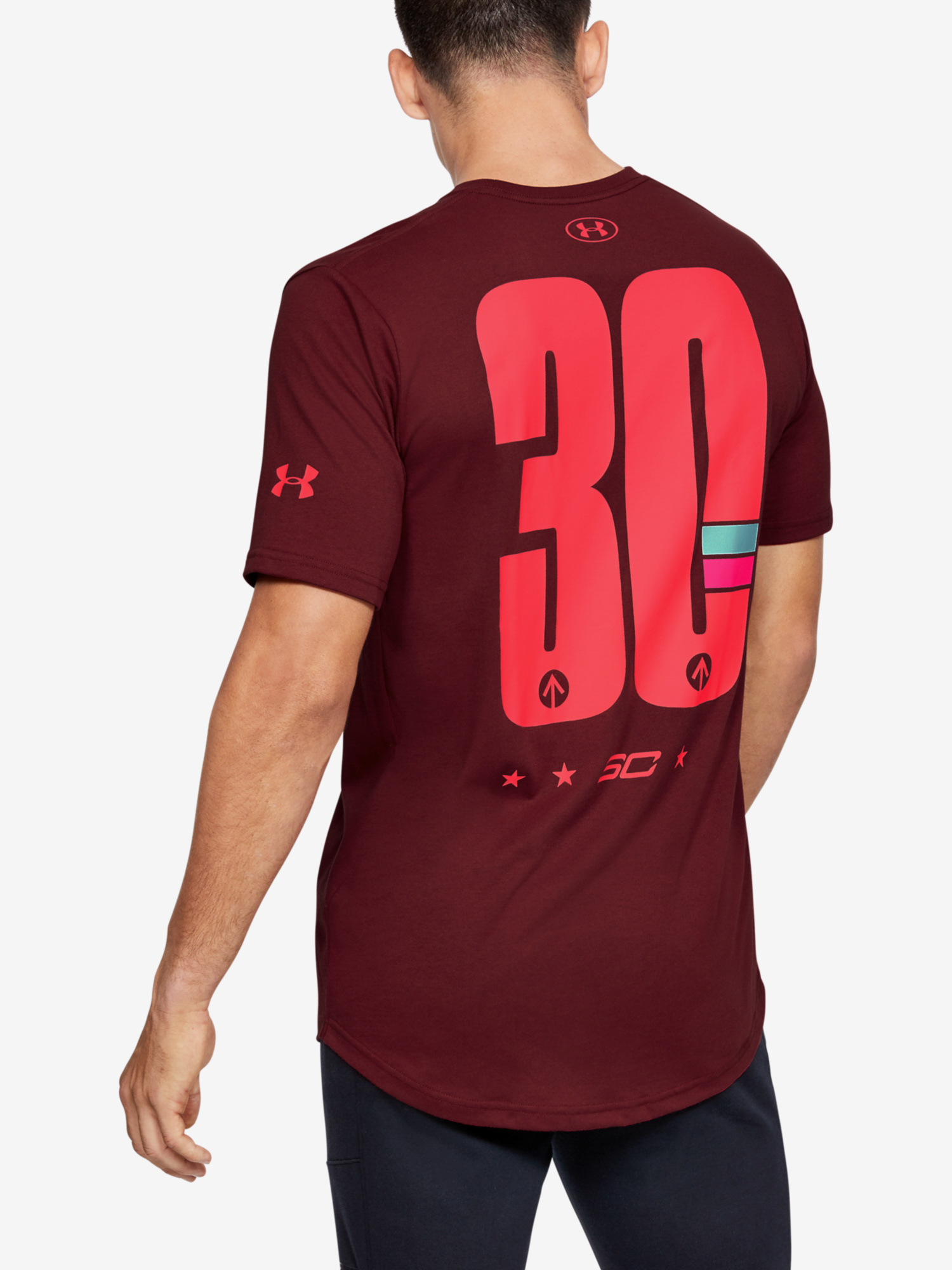 Tričko Under Armour Sc30 Ss Elevated Tee (2)
