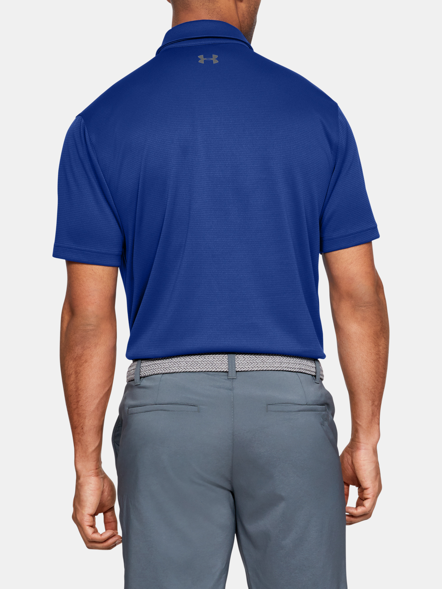 Tričko Under Armour Tech Polo-BLU (2)