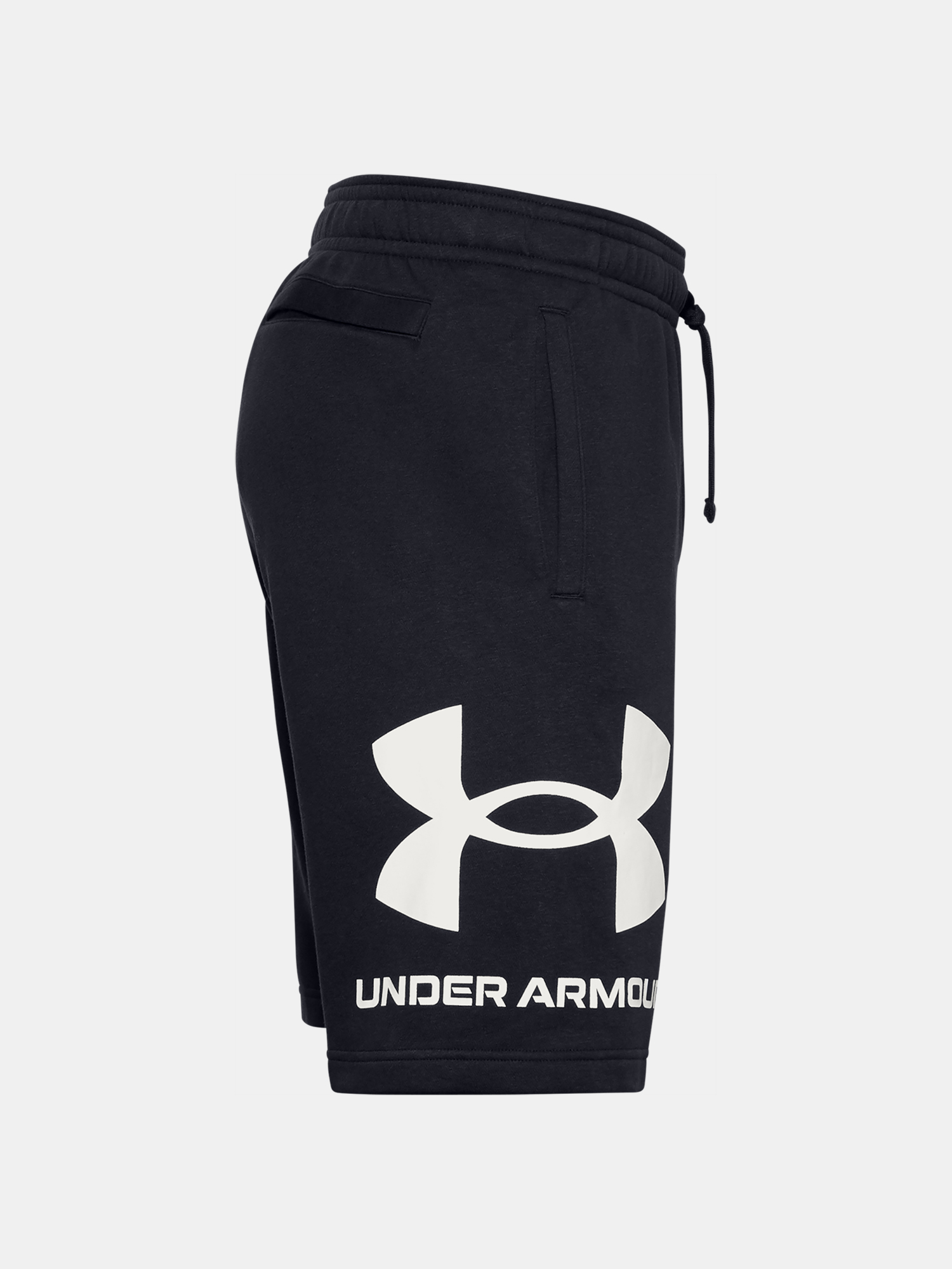 Kraťasy Under Armour UA Rival FLC Big Logo Shorts-BLK (3)