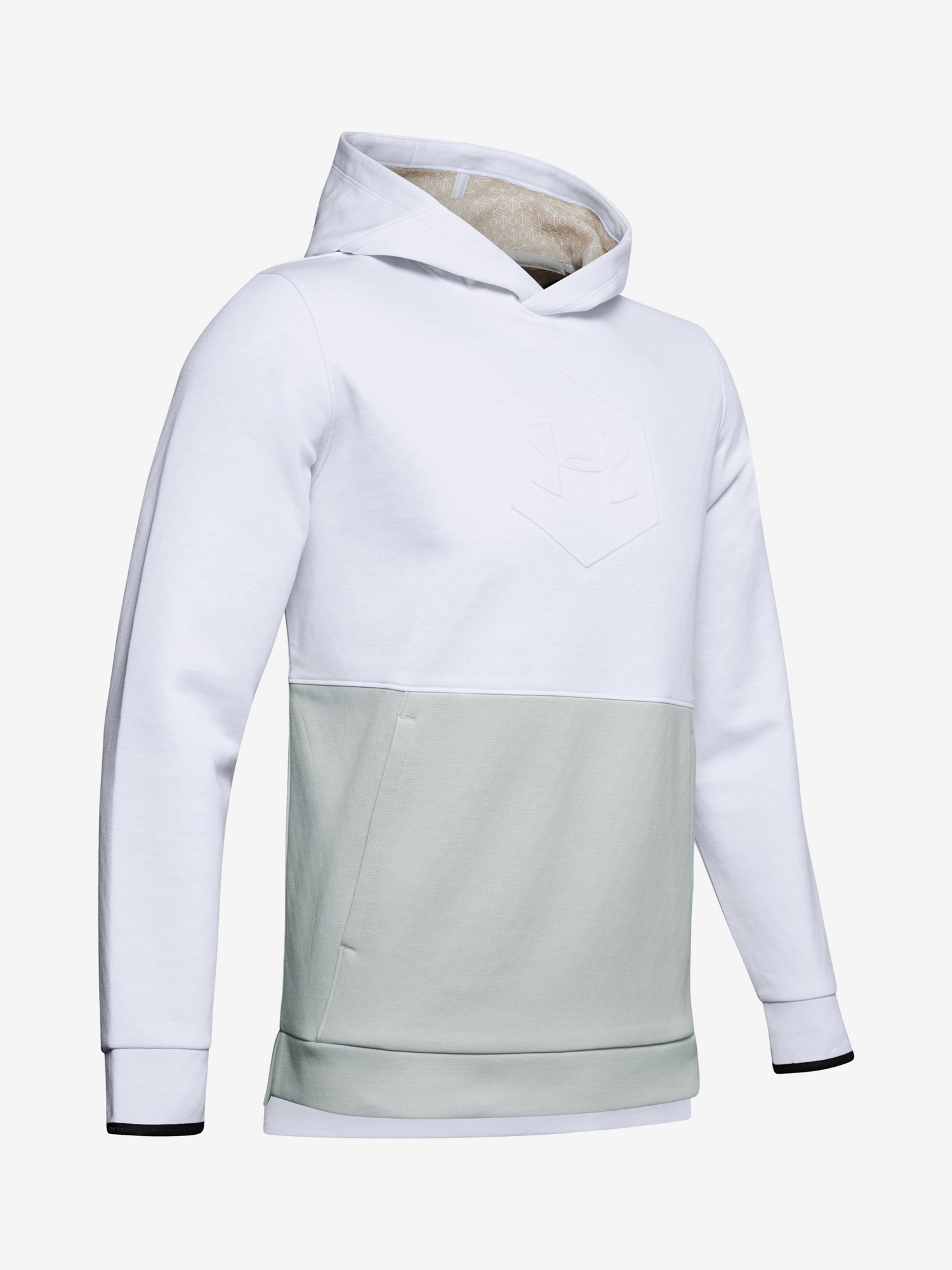 Mikina Under Armour Athlete Recovery Fleece Graphic Hoodie-W (3)