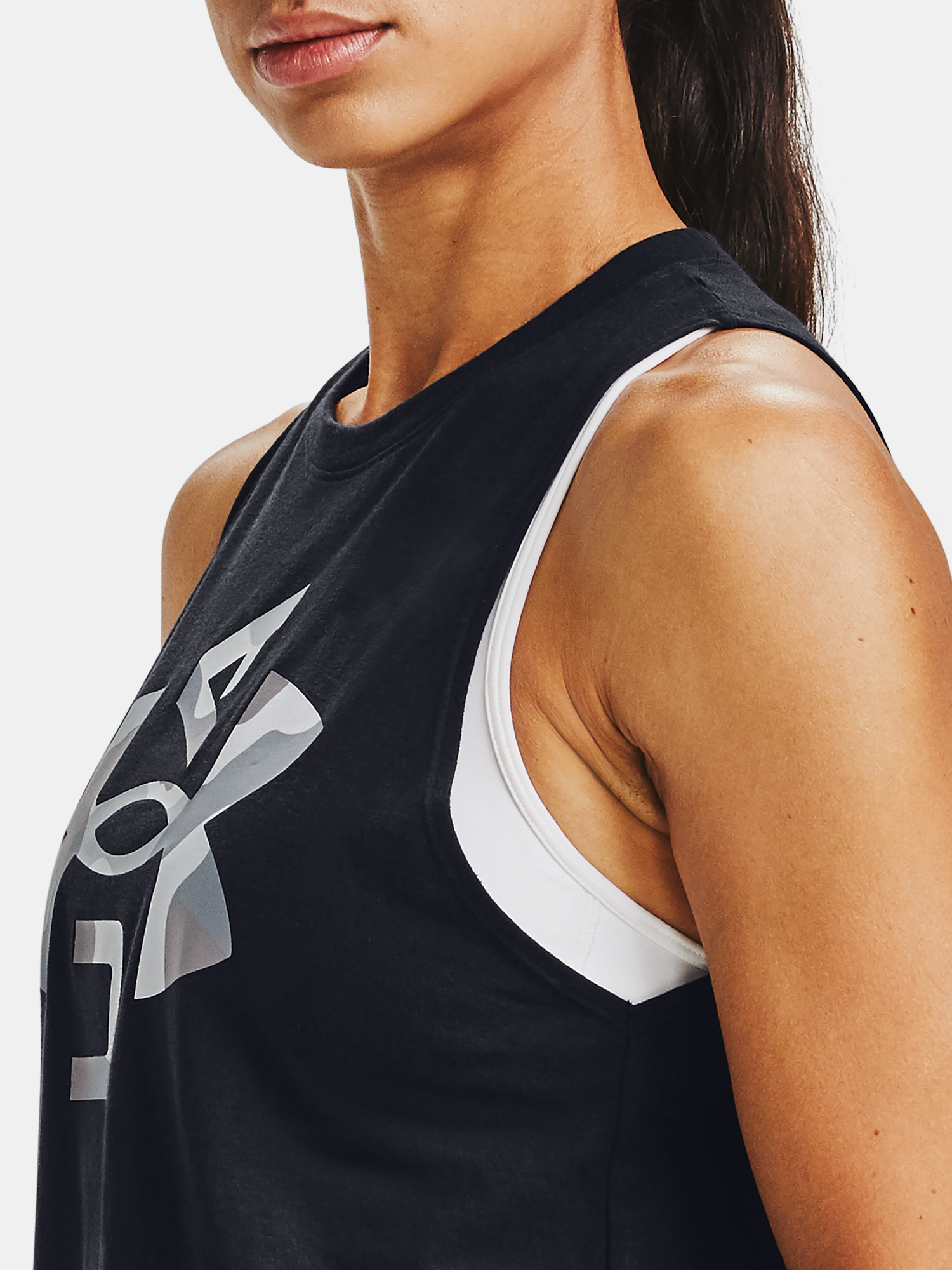 Tielko Under Armour Logo Graphic Muscle Tank (5)