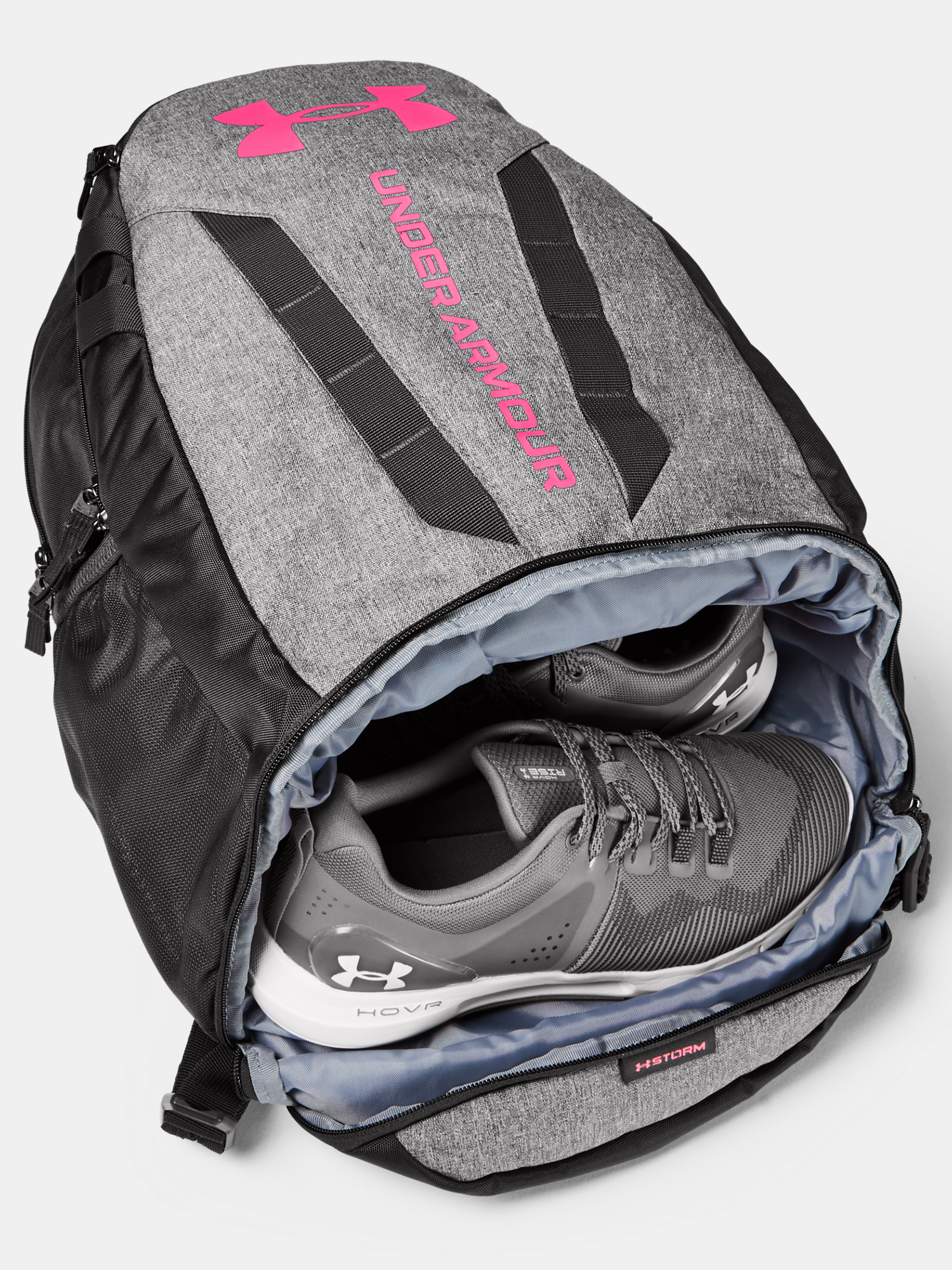 Batoh Under Armour UA Hustle 5.0 Backpack-GRY (4)