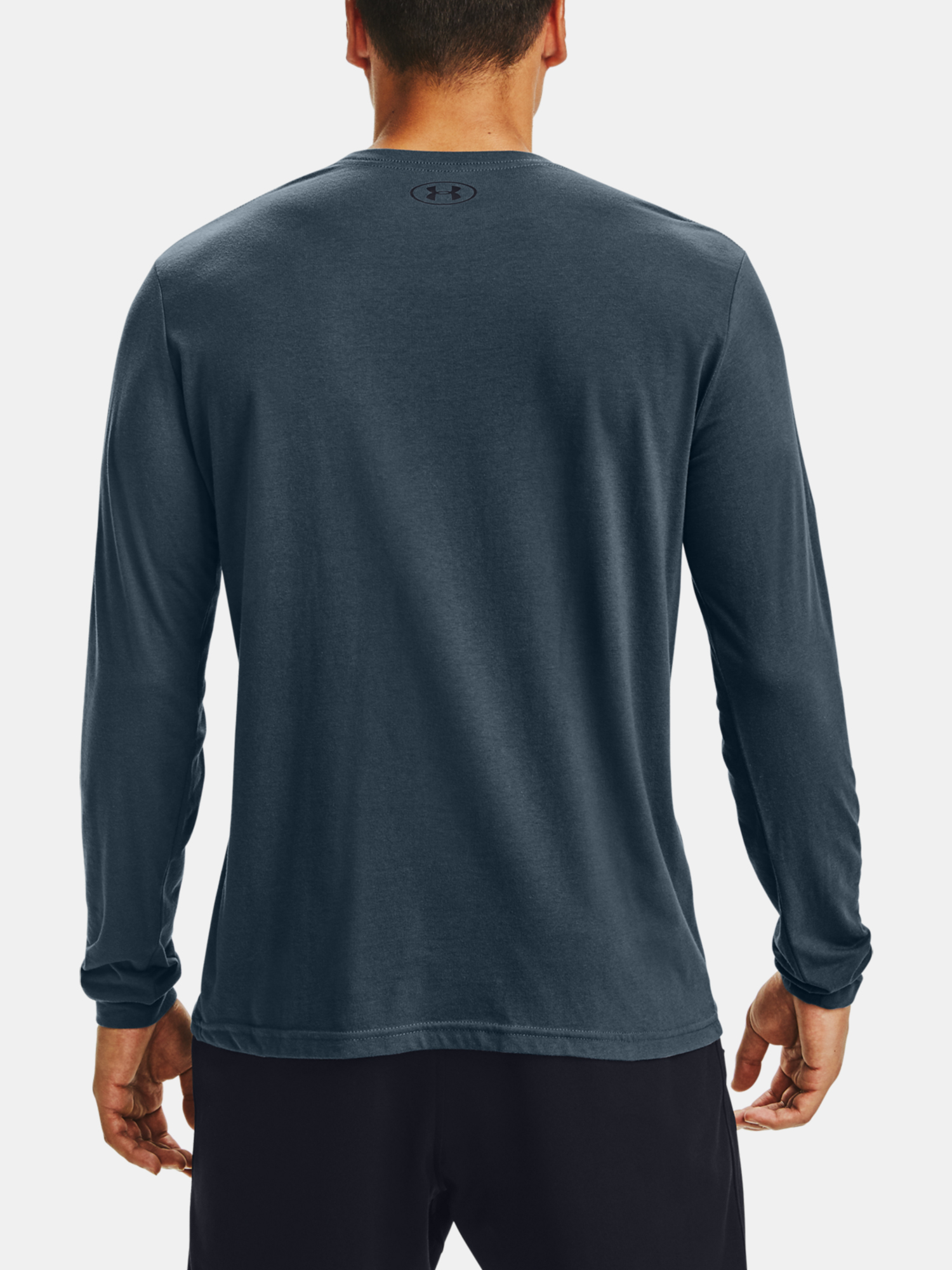 Tričko Under Armour SPORTSTYLE LEFT CHEST LS-BLU (2)