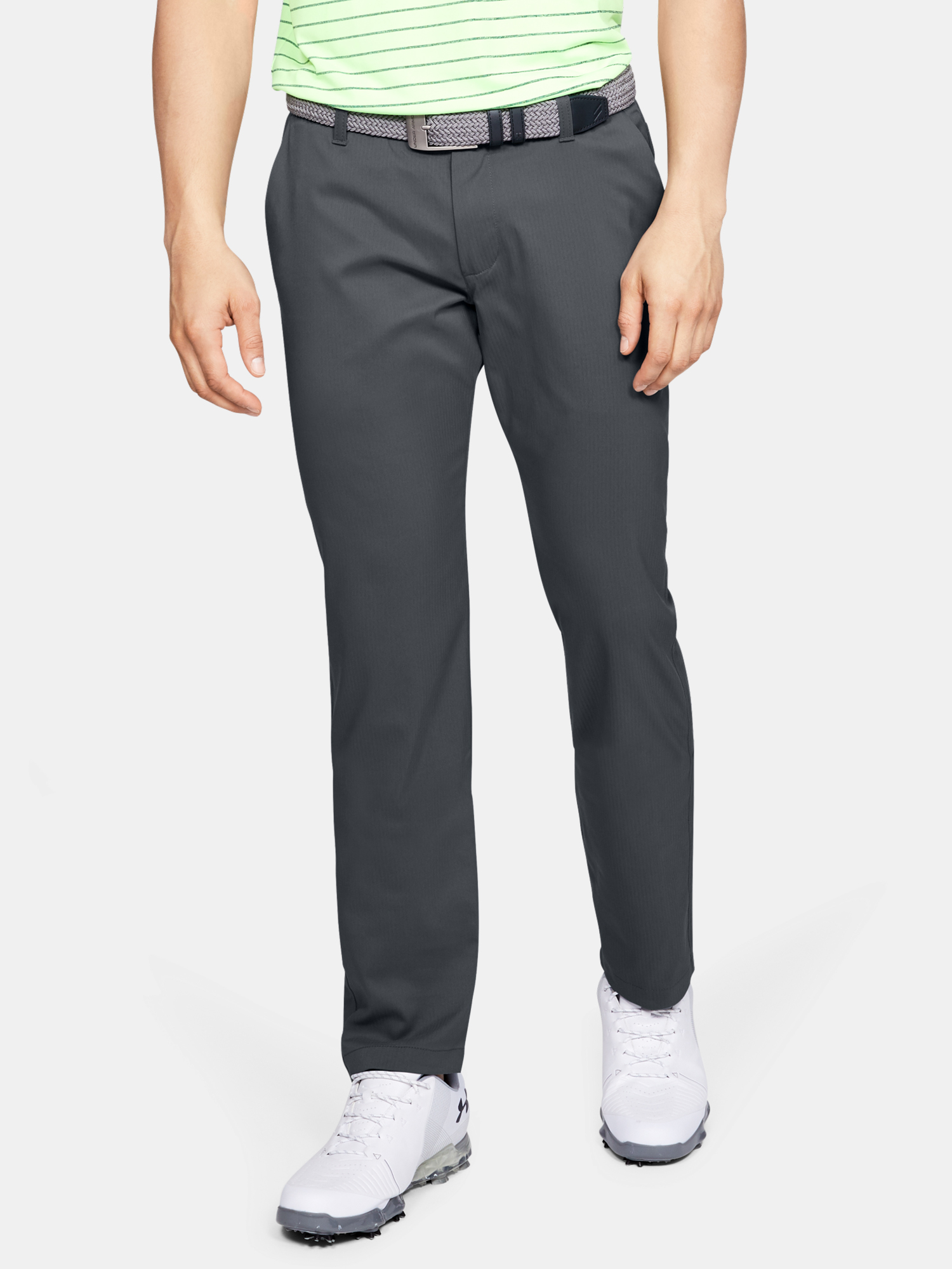 Nohavice Under Armour Showdown Taper Pant-GRY (1)