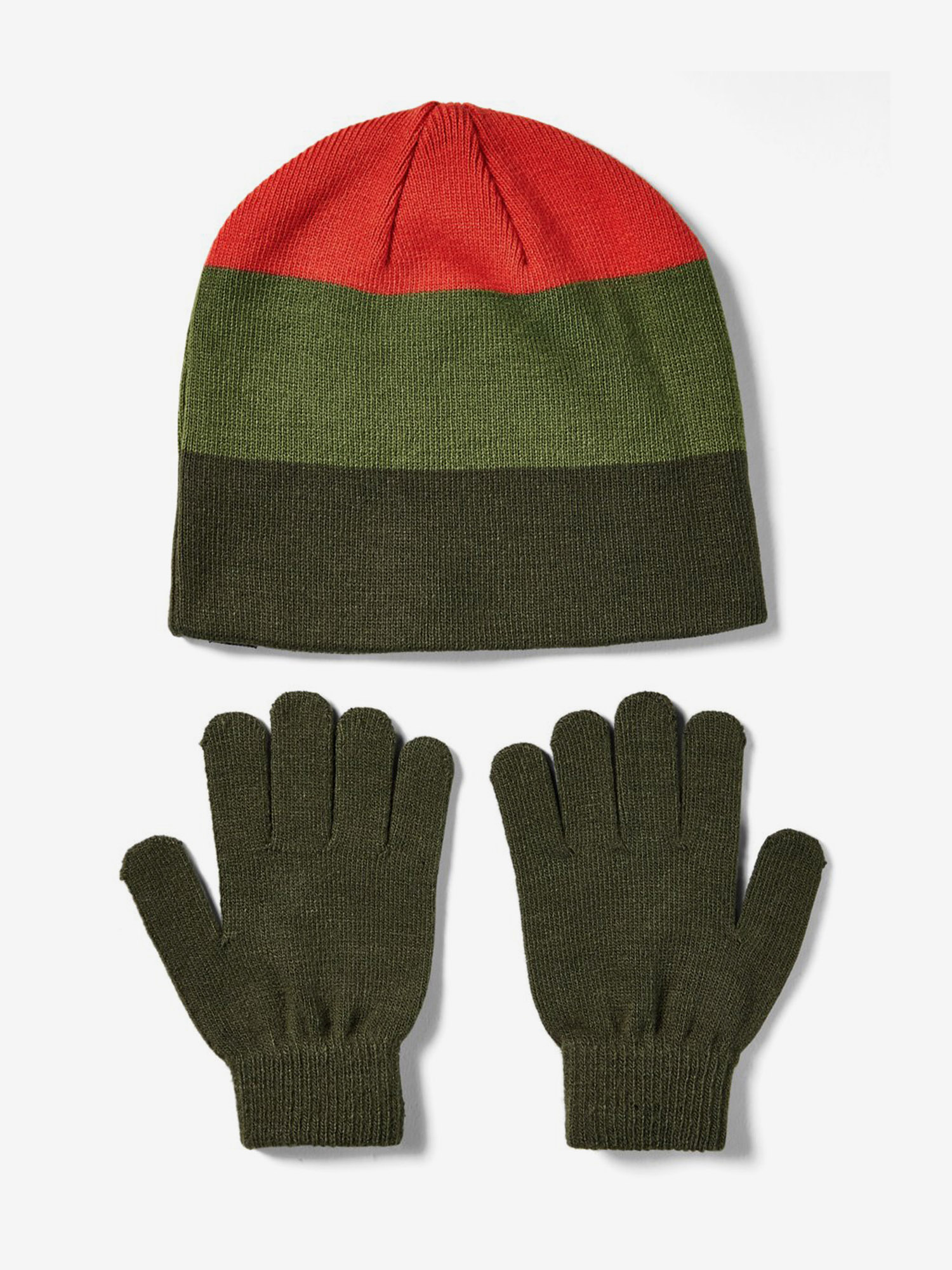 Čapica a rukavice Under Armour Boys Beanie Glove Combo-Grn (2)