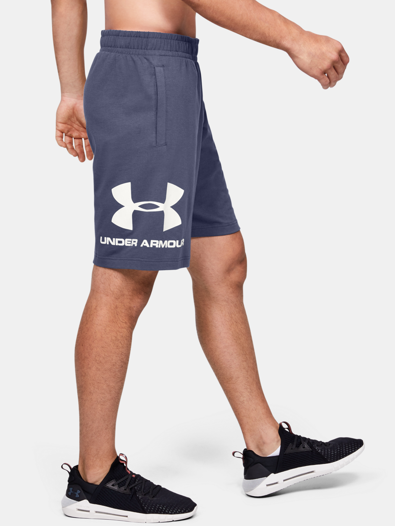 Kraťasy Under Armour Cotton Big Logo Shorts (3)
