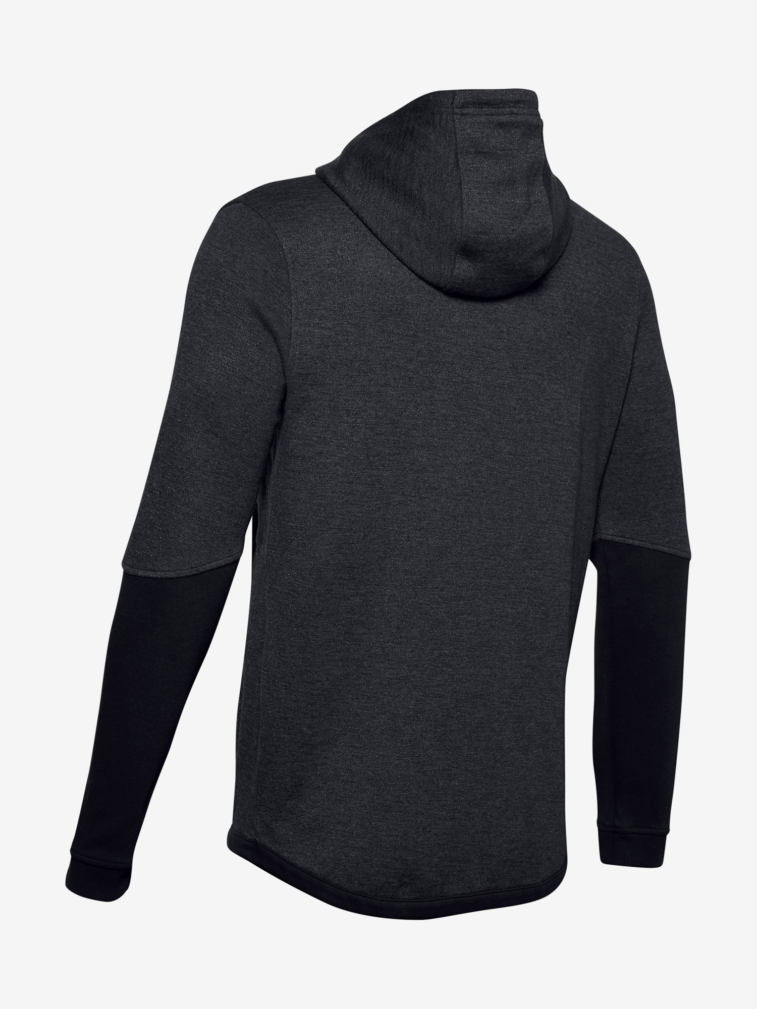 Mikina Under Armour DOUBLE KNIT FZ HOODIE-BLK (5)