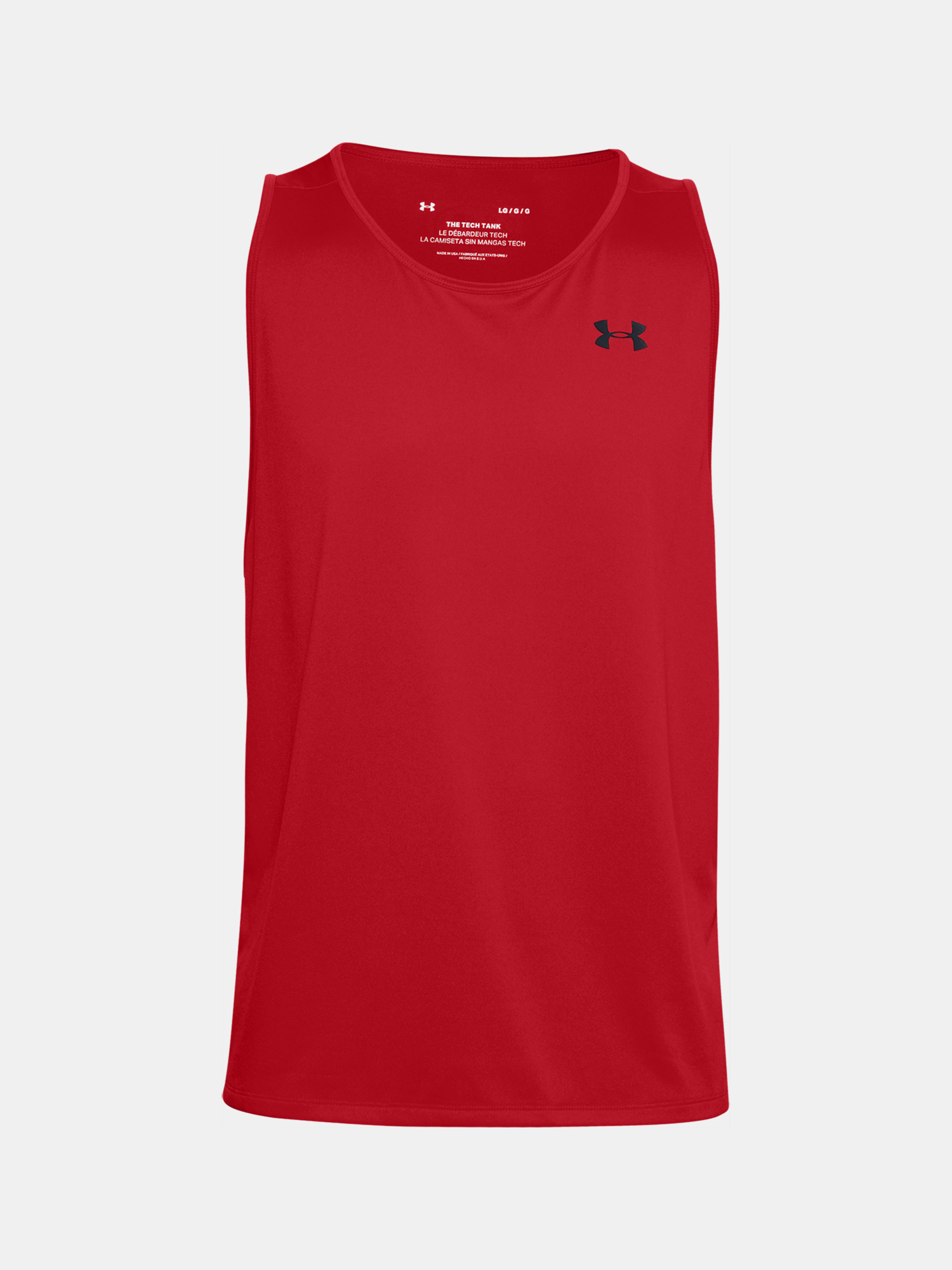 Tielko Under Armour Tech 2.0 Tank-RED (3)