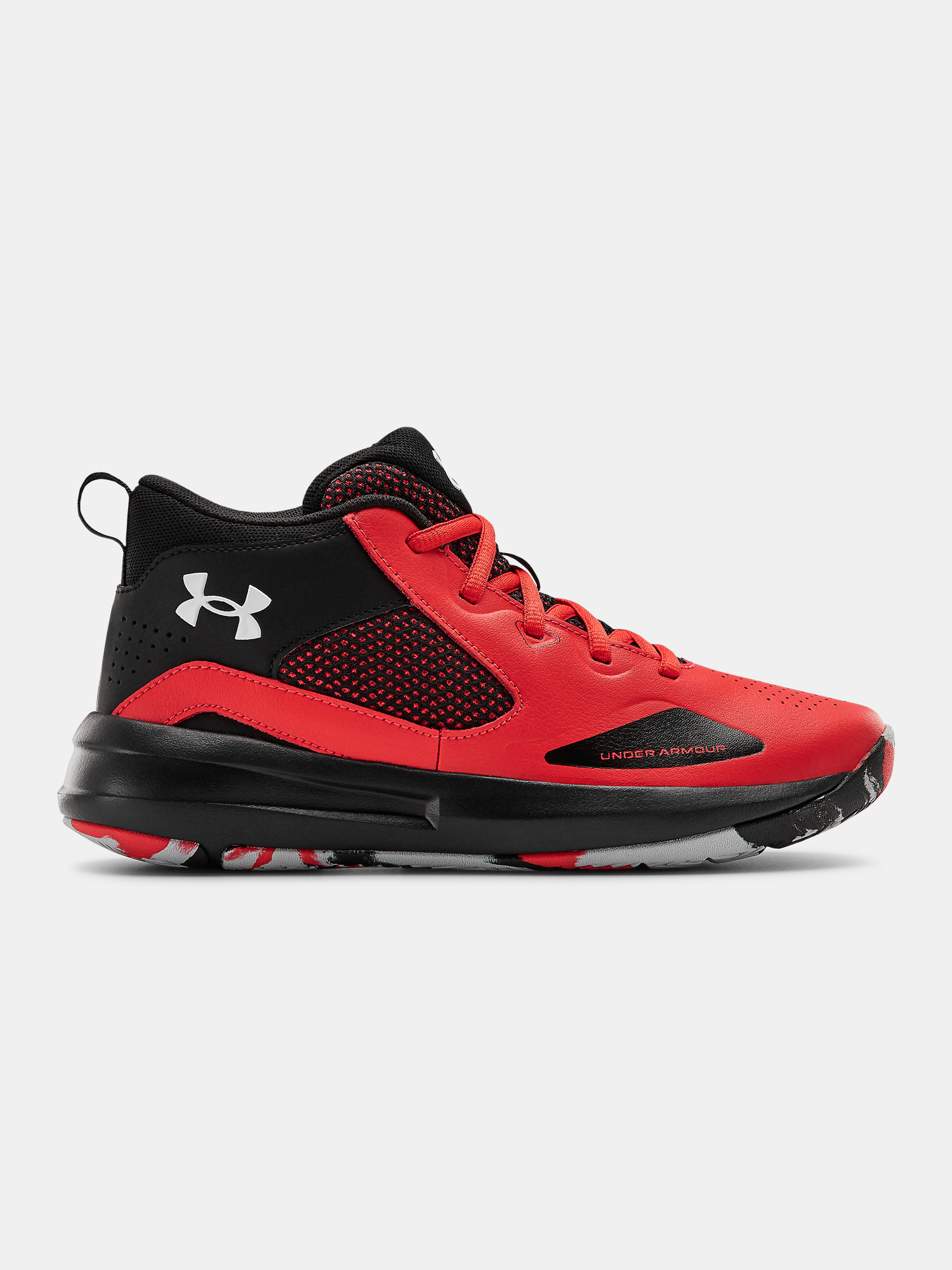 Topánky Under Armour UA GS Lockdown 5-RED (1)