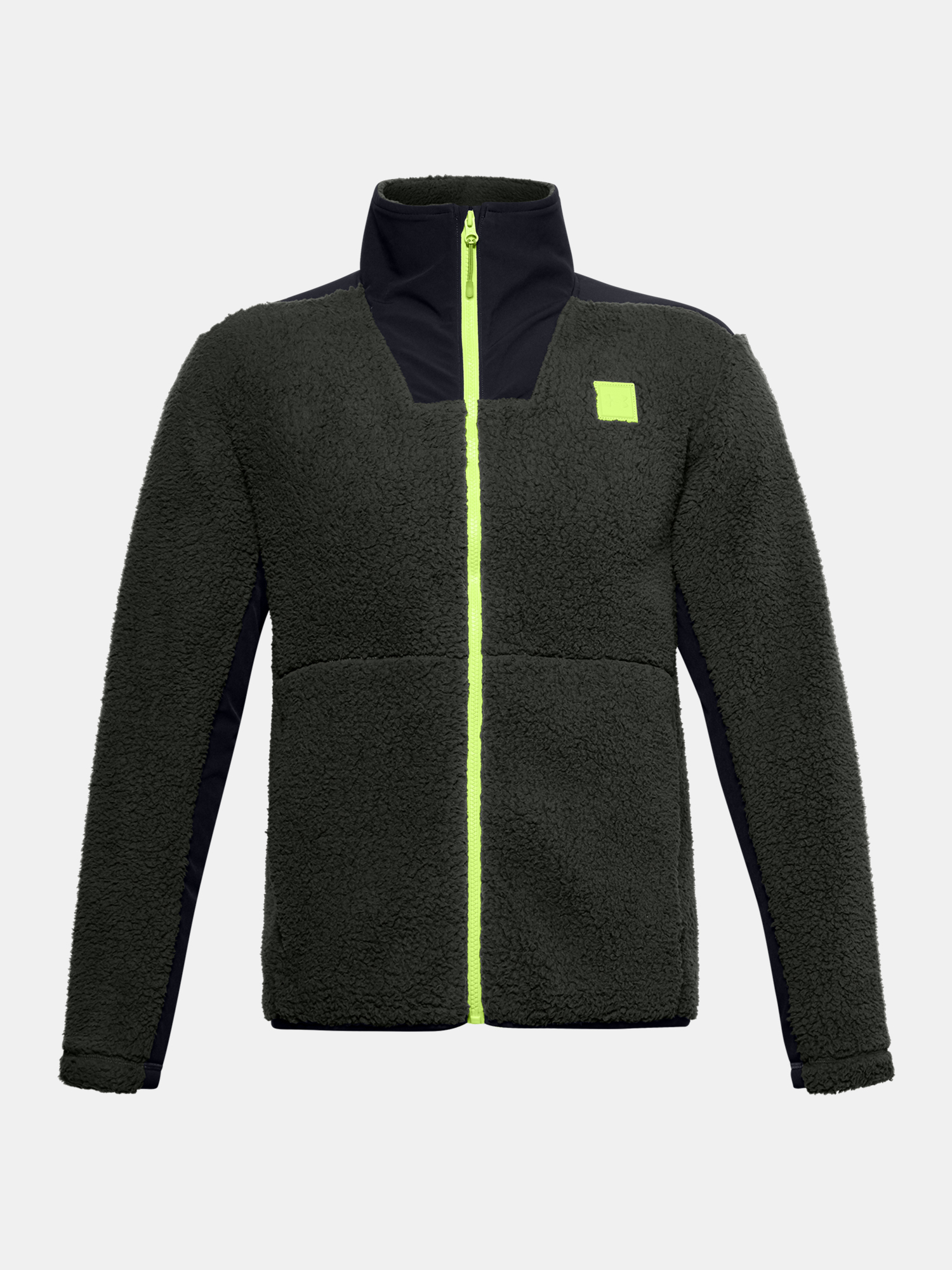 Bunda Under Armour LEGACY SHERPA SWACKET-GRN (1)