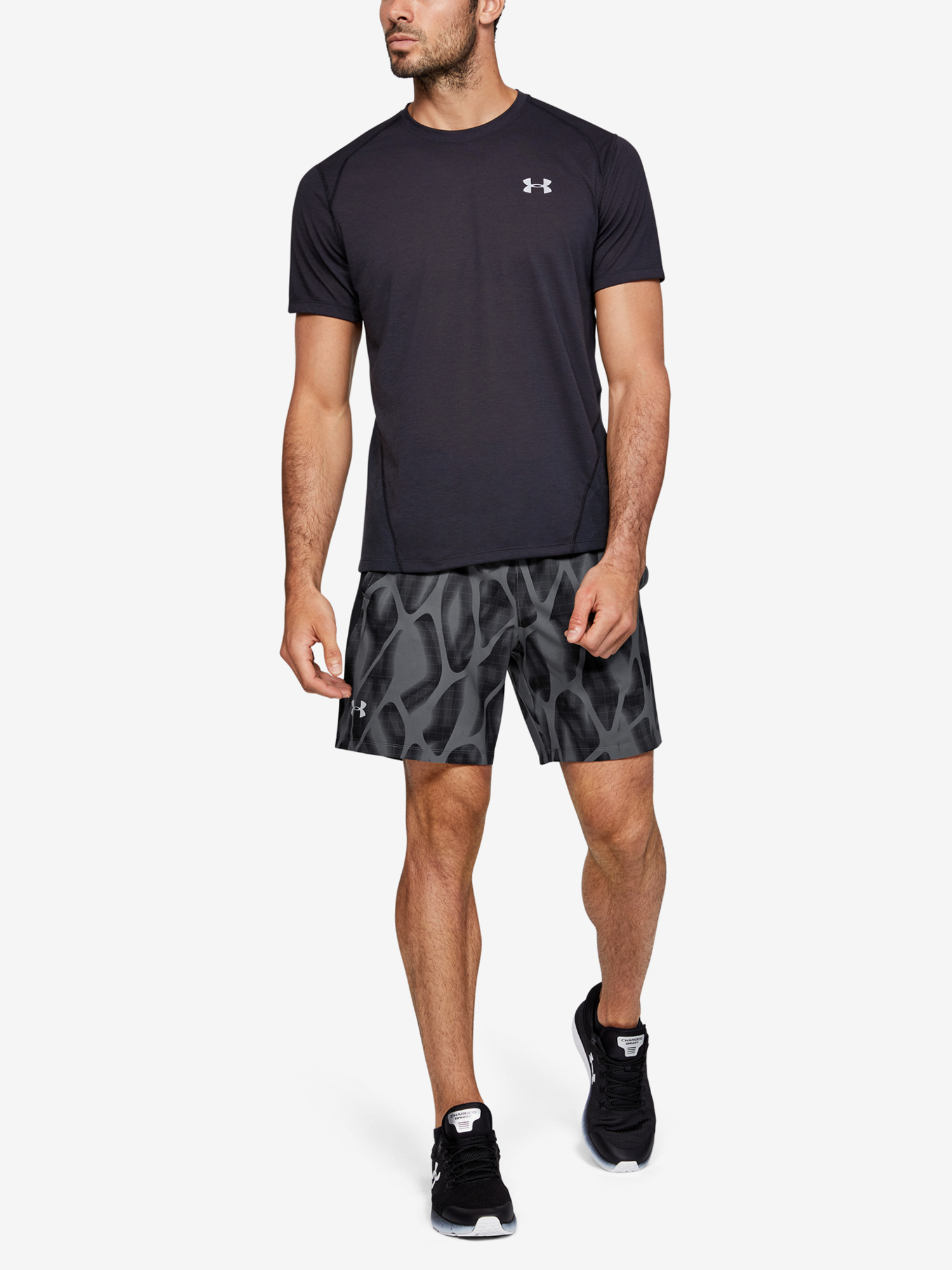 Kraťasy Under Armour Launch Sw 7'' Printed Short (6)