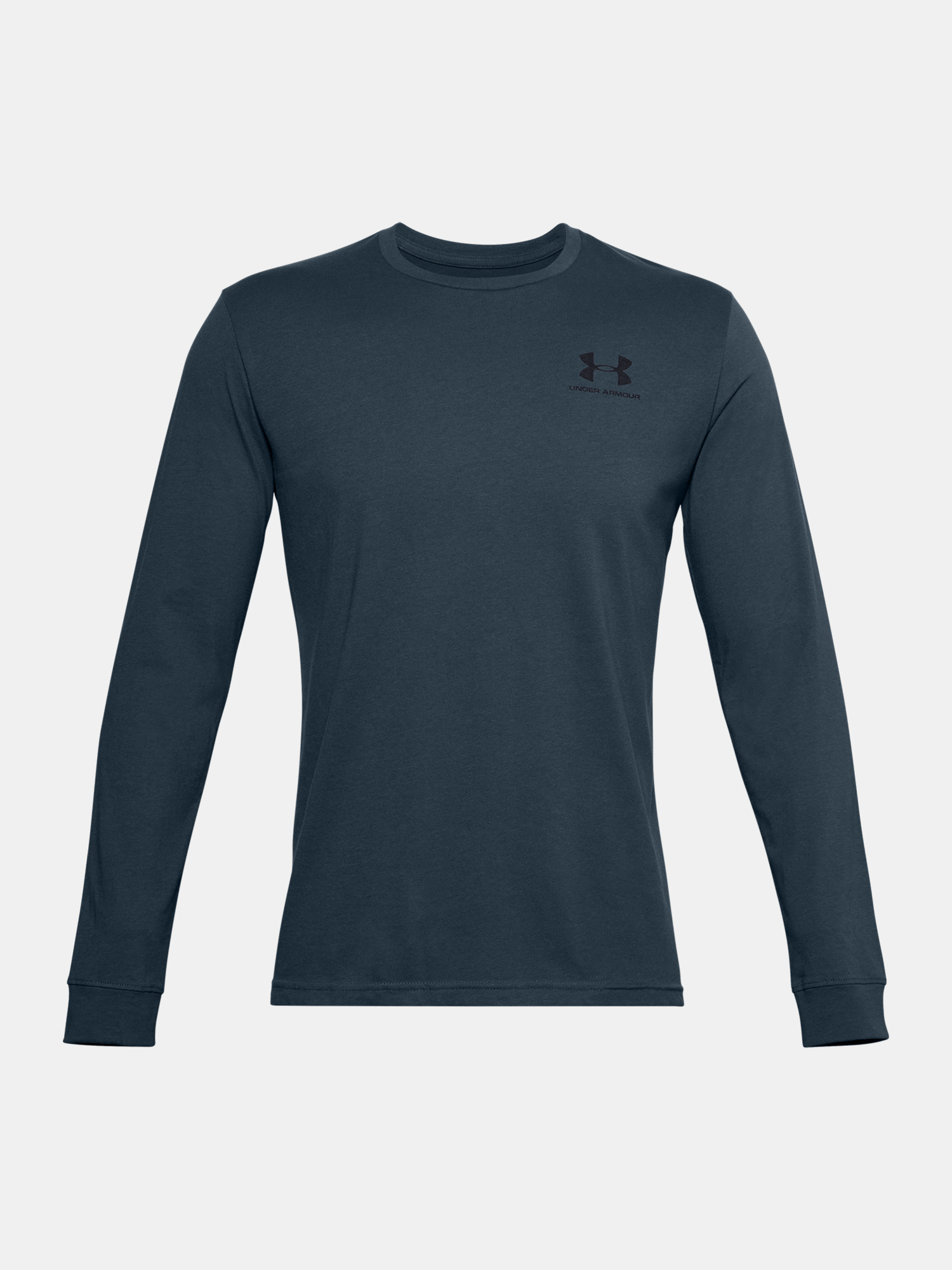 Tričko Under Armour SPORTSTYLE LEFT CHEST LS-BLU (3)