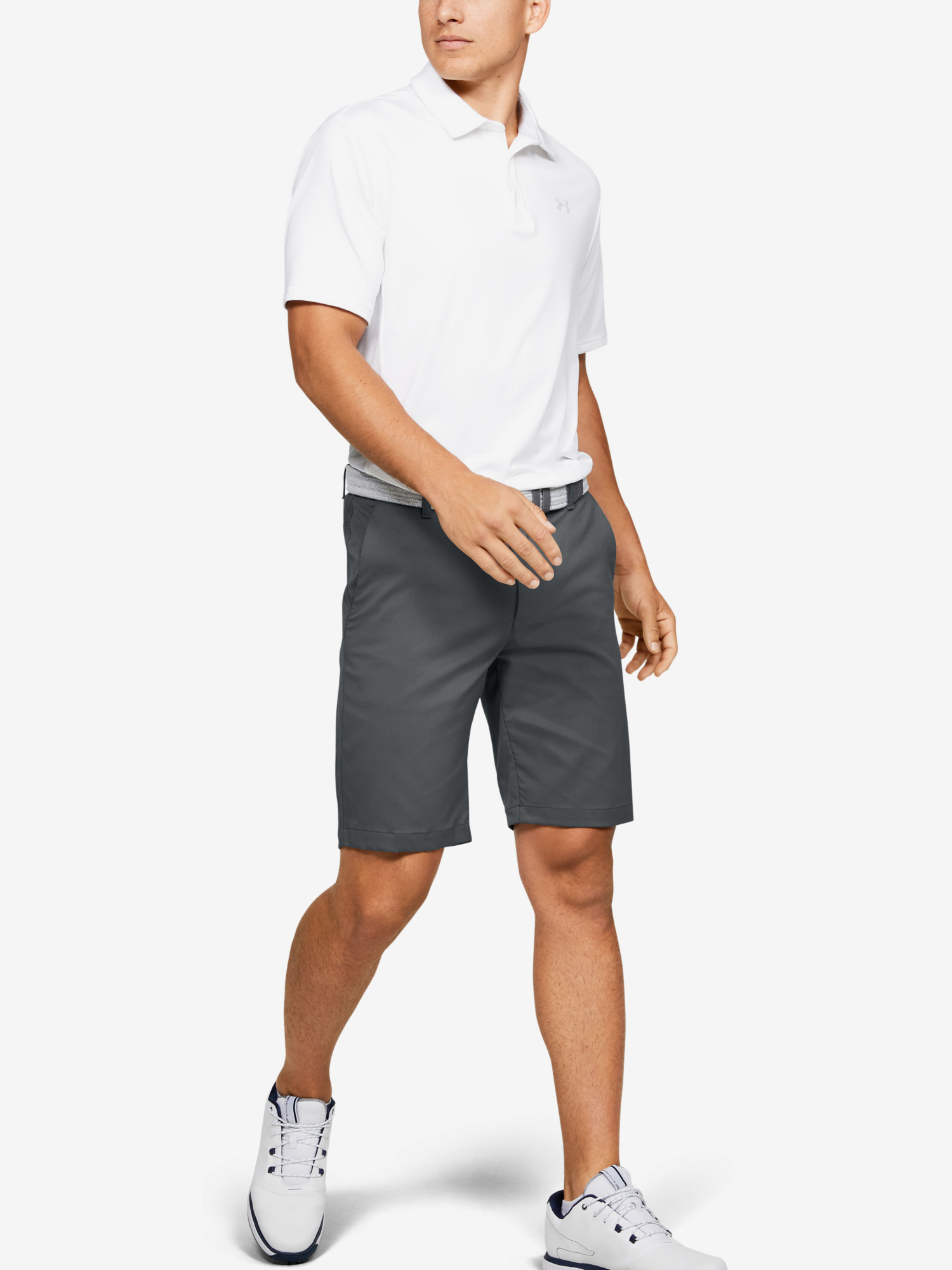Kraťasy Under Armour Showdown Short-GRY (6)