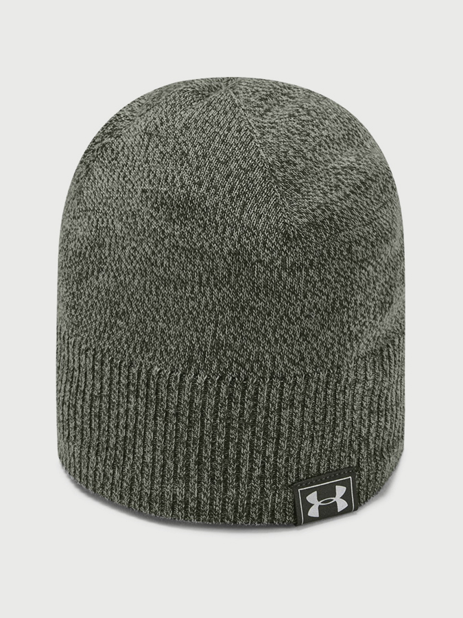 Čapica Under Armour Men's UA Reactor Knit Beanie-GRN (1)