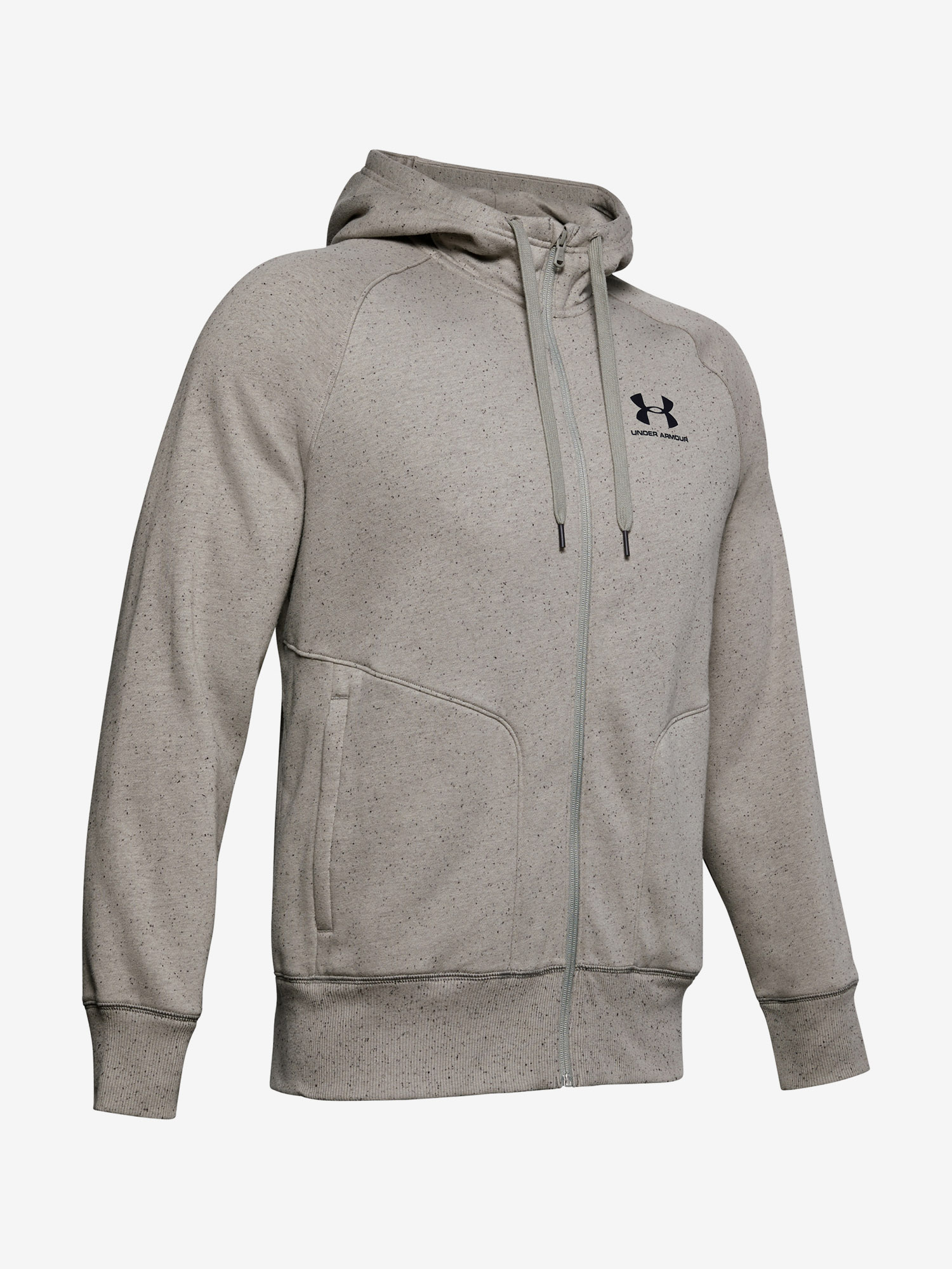 Mikina Under Armour Speckled Fleece Fz Hoodie (4)