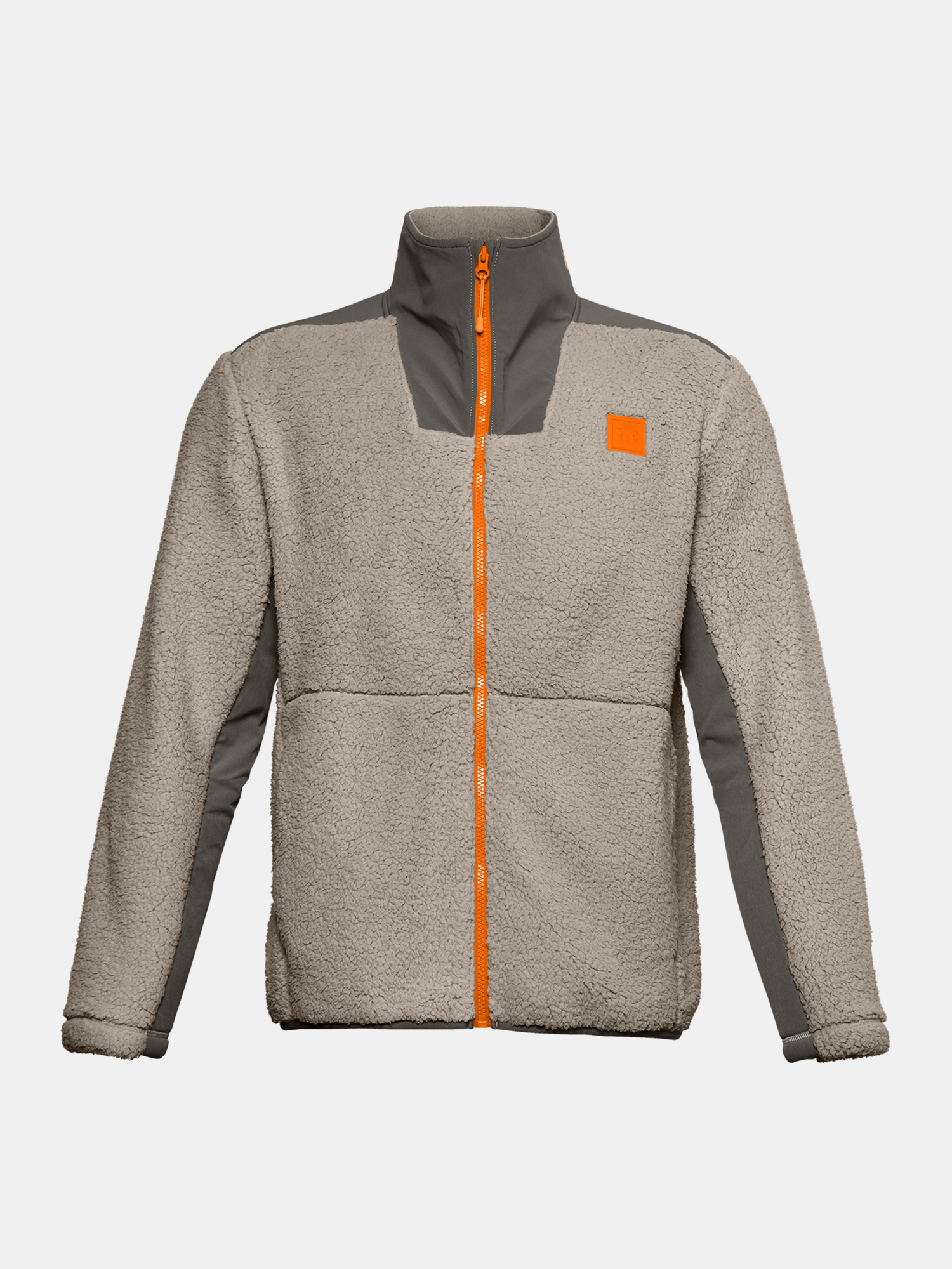 Bunda Under Armour LEGACY SHERPA SWACKET-BRN (3)