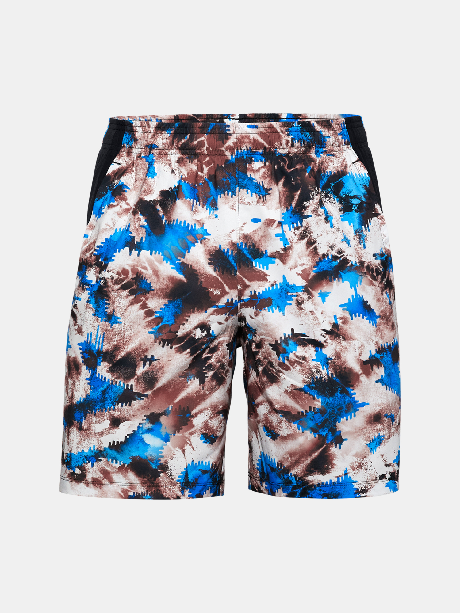 Kraťasy Under Armour UA LAUNCH SW 7'' PRINTED SHORT-RED (3)