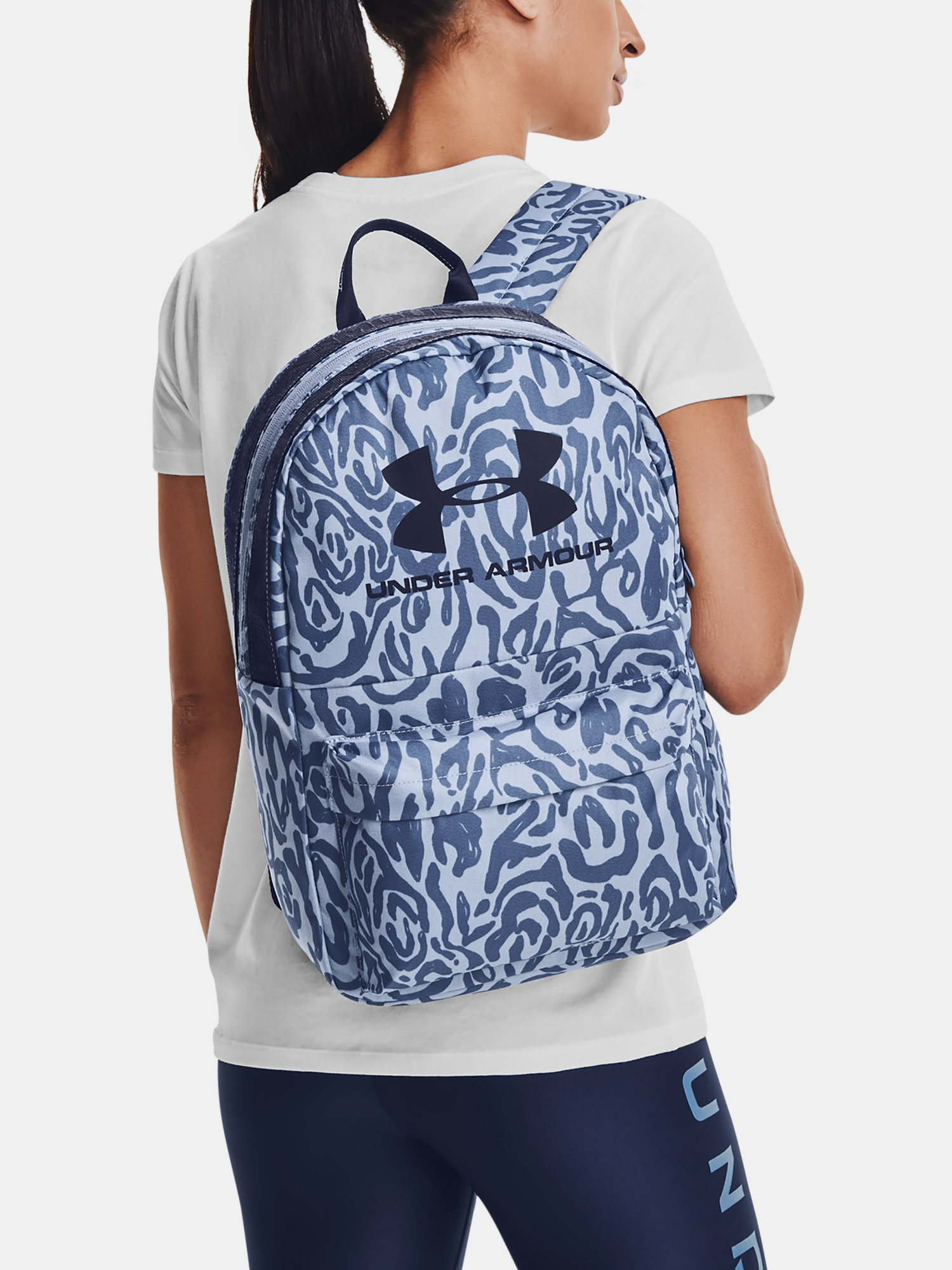 Batoh Under Armour Loudon Backpack-BLU (6)