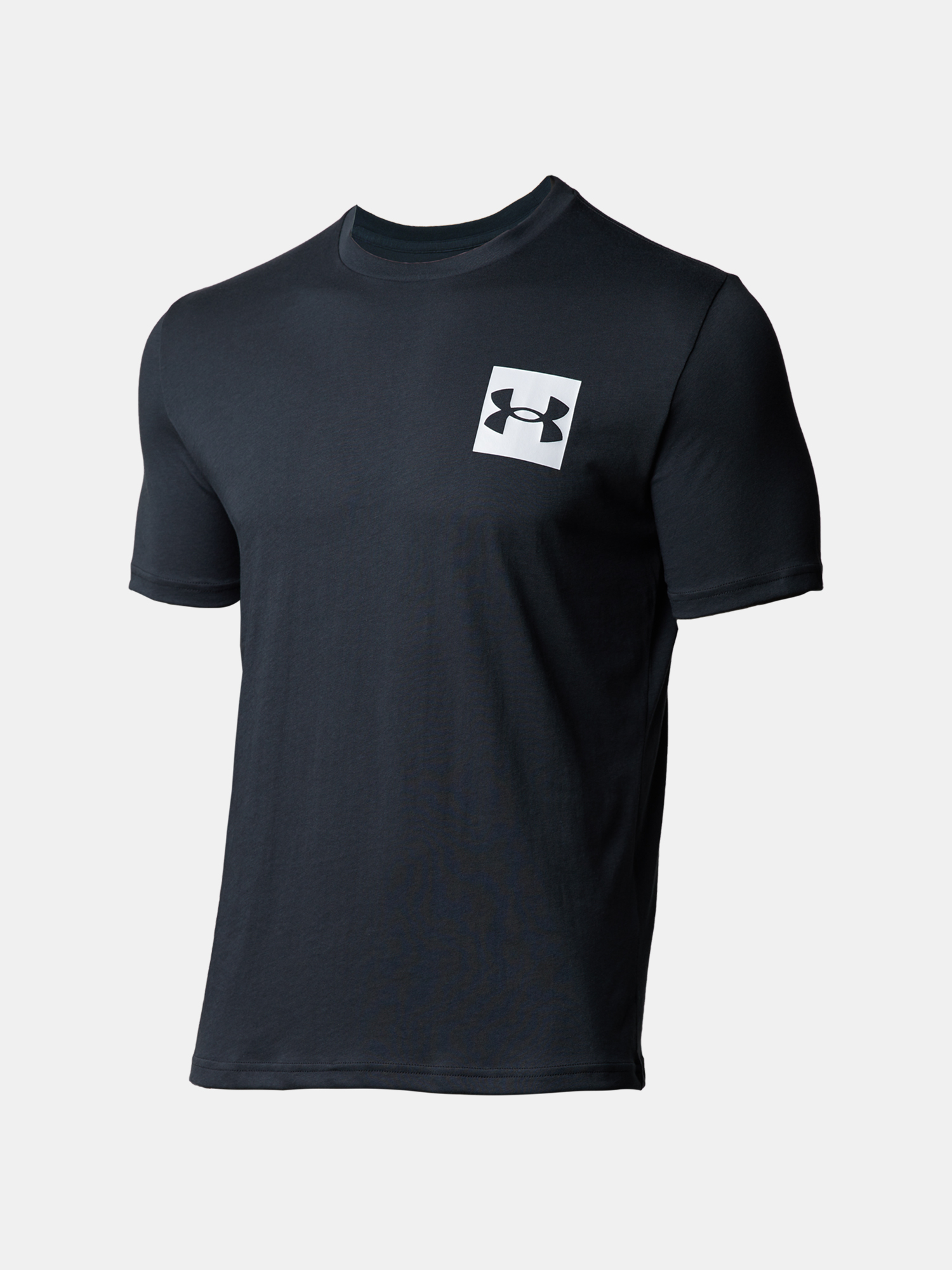 Tričko Under Armour UA BOX LOGO SS-BLK (3)