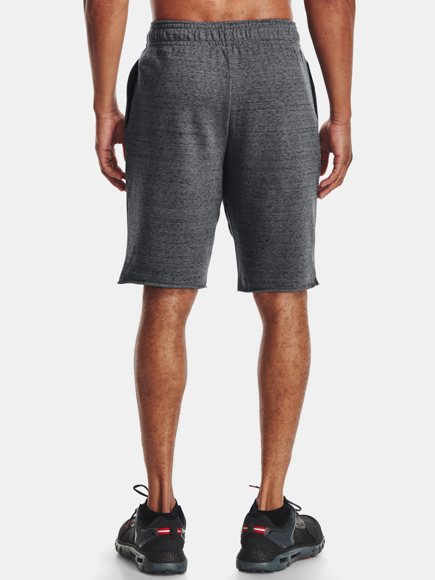 Kraťasy Under Armour  RIVAL TERRY SHORT-GRY (2)
