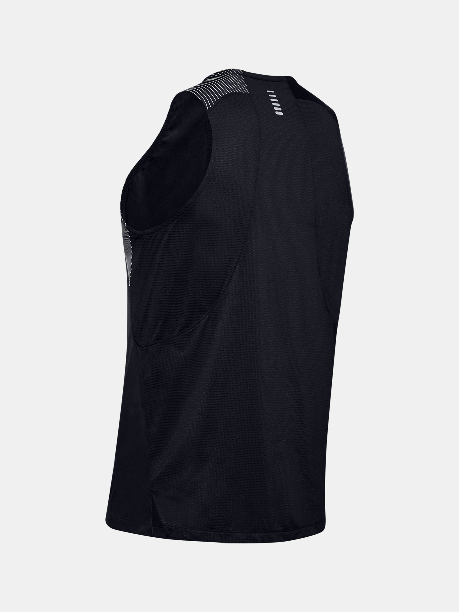 Tielko Under Armour M  Qlifier ISO-CHILL Singlet-BLK (4)
