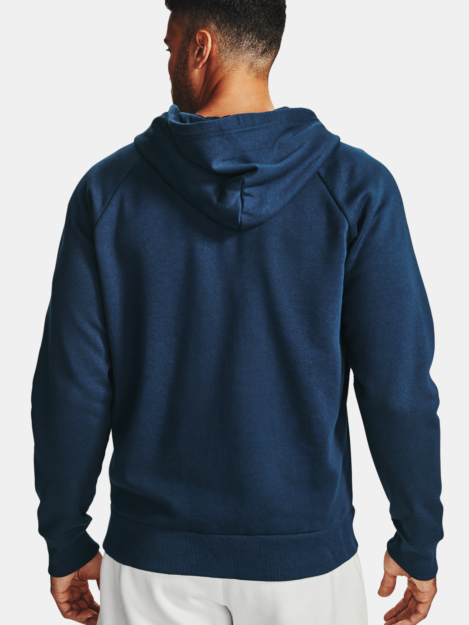 Mikina Under Armour UA Rival Fleece FZ Hoodie-NVY (2)