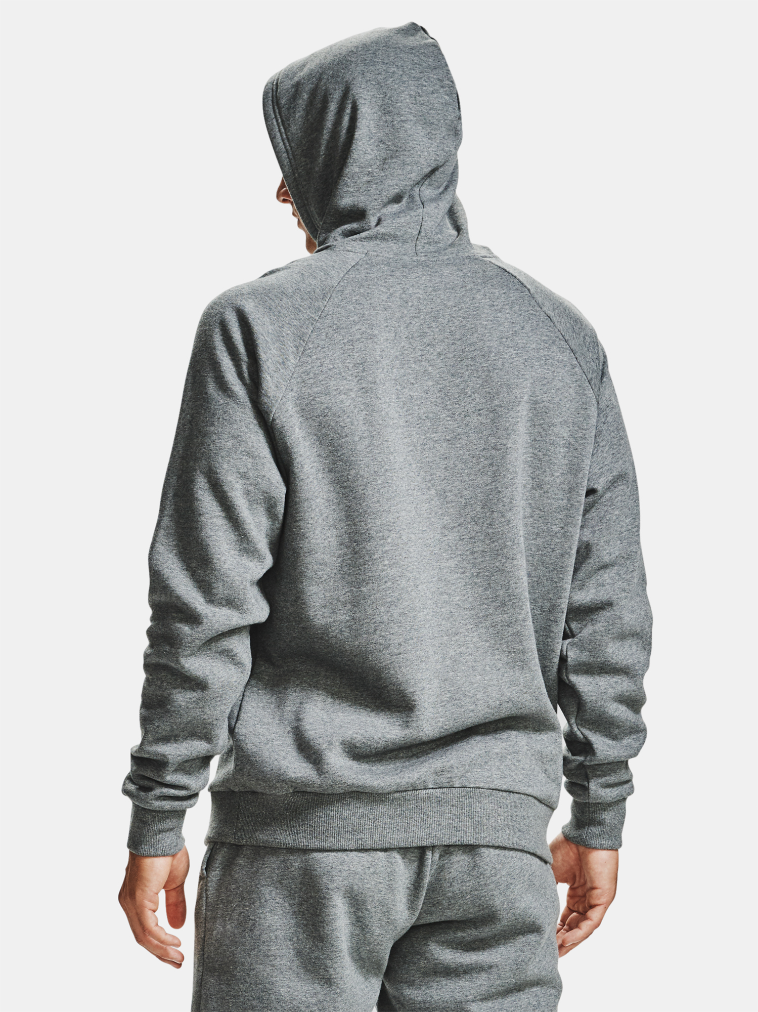 Mikina Under Armour UA Rival Fleece Hoodie-GRY (2)