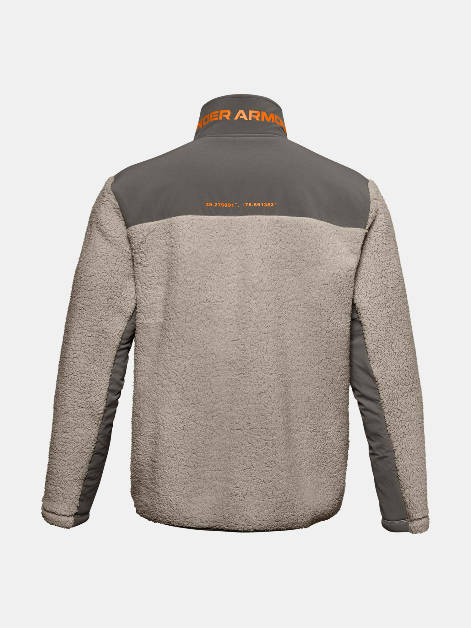 Bunda Under Armour LEGACY SHERPA SWACKET-BRN (4)