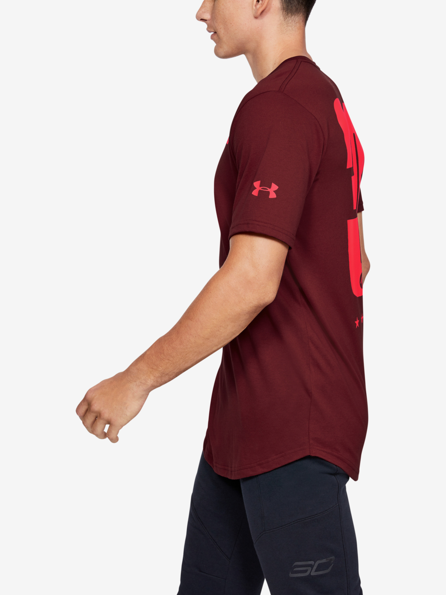 Tričko Under Armour Sc30 Ss Elevated Tee (3)