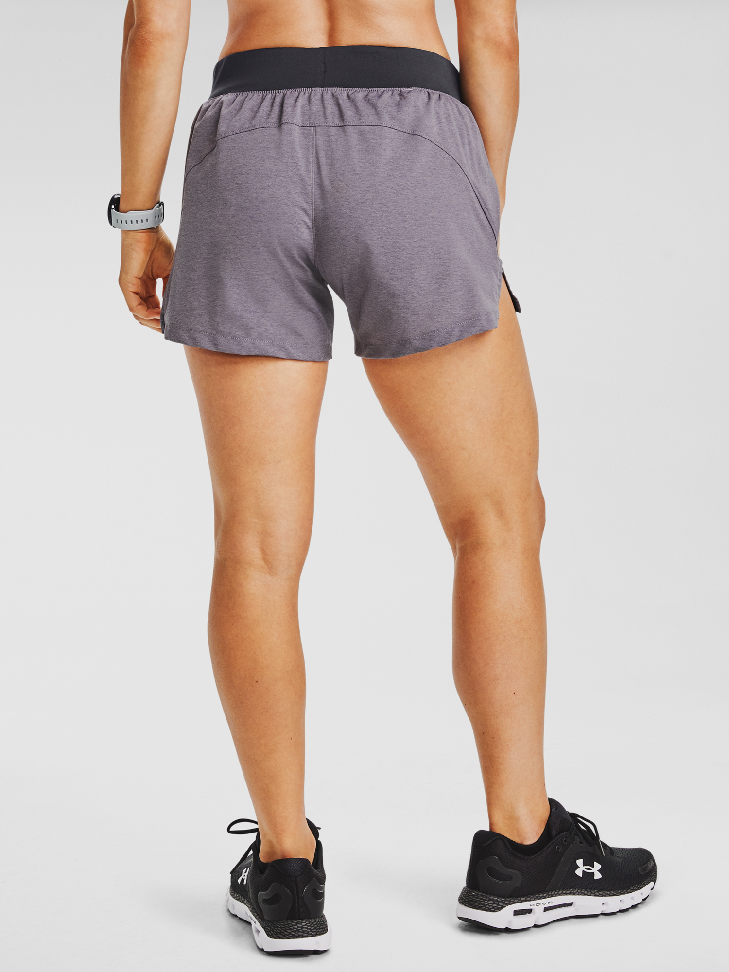 Kraťasy Under Armour UA Launch SW 5'' Short-PPL (2)