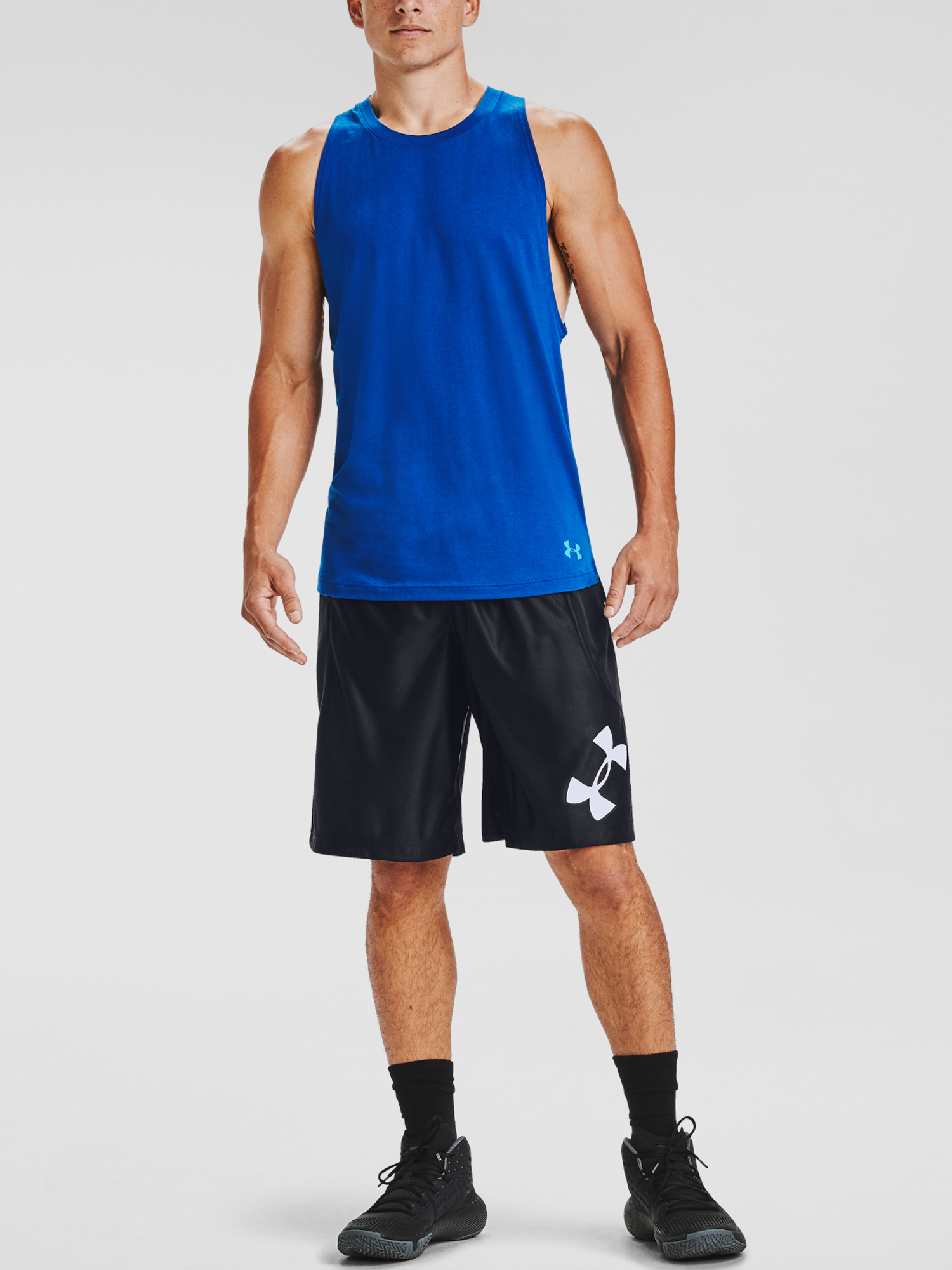 Kraťasy Under Armour UA Perimeter Short-BLK (3)