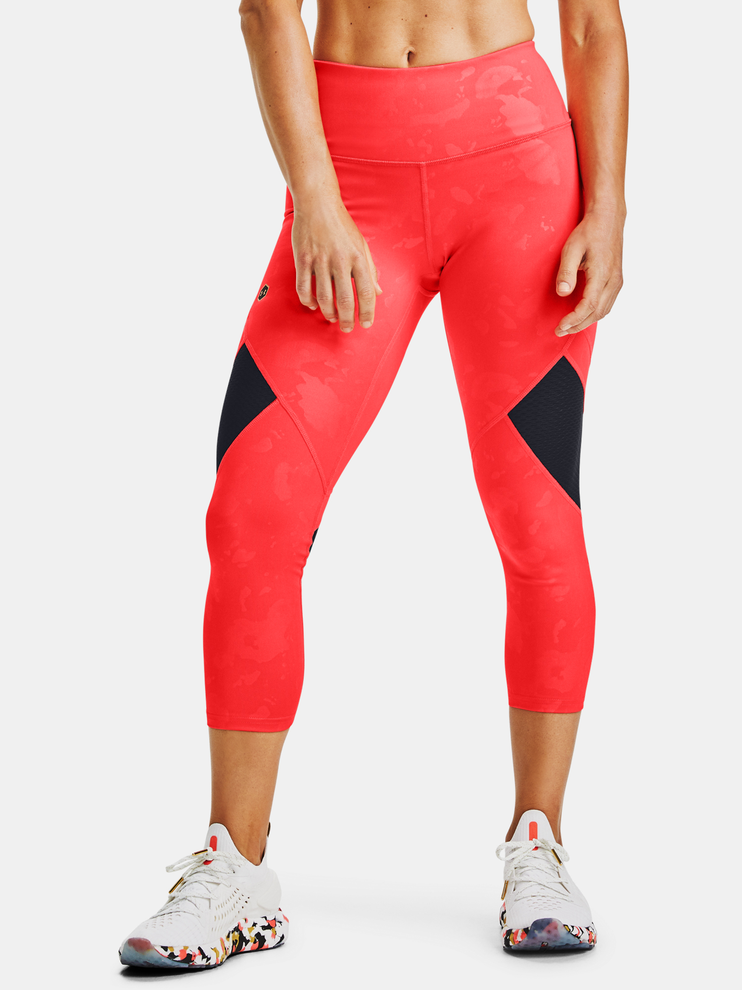 Kompresní legíny Under Armour Kazoku Rush Crop (1)