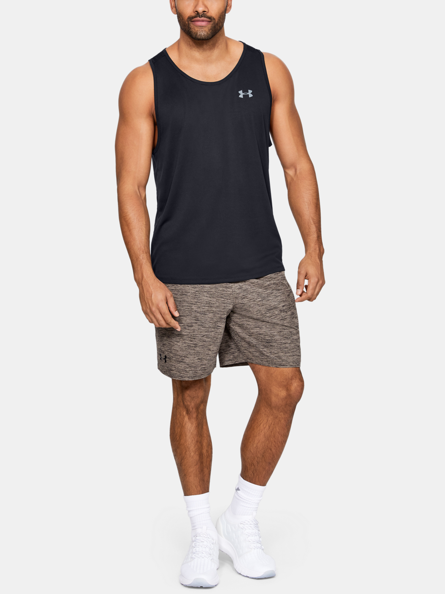 Tielko Under Armour Tech 2.0 Tank-BLK (4)