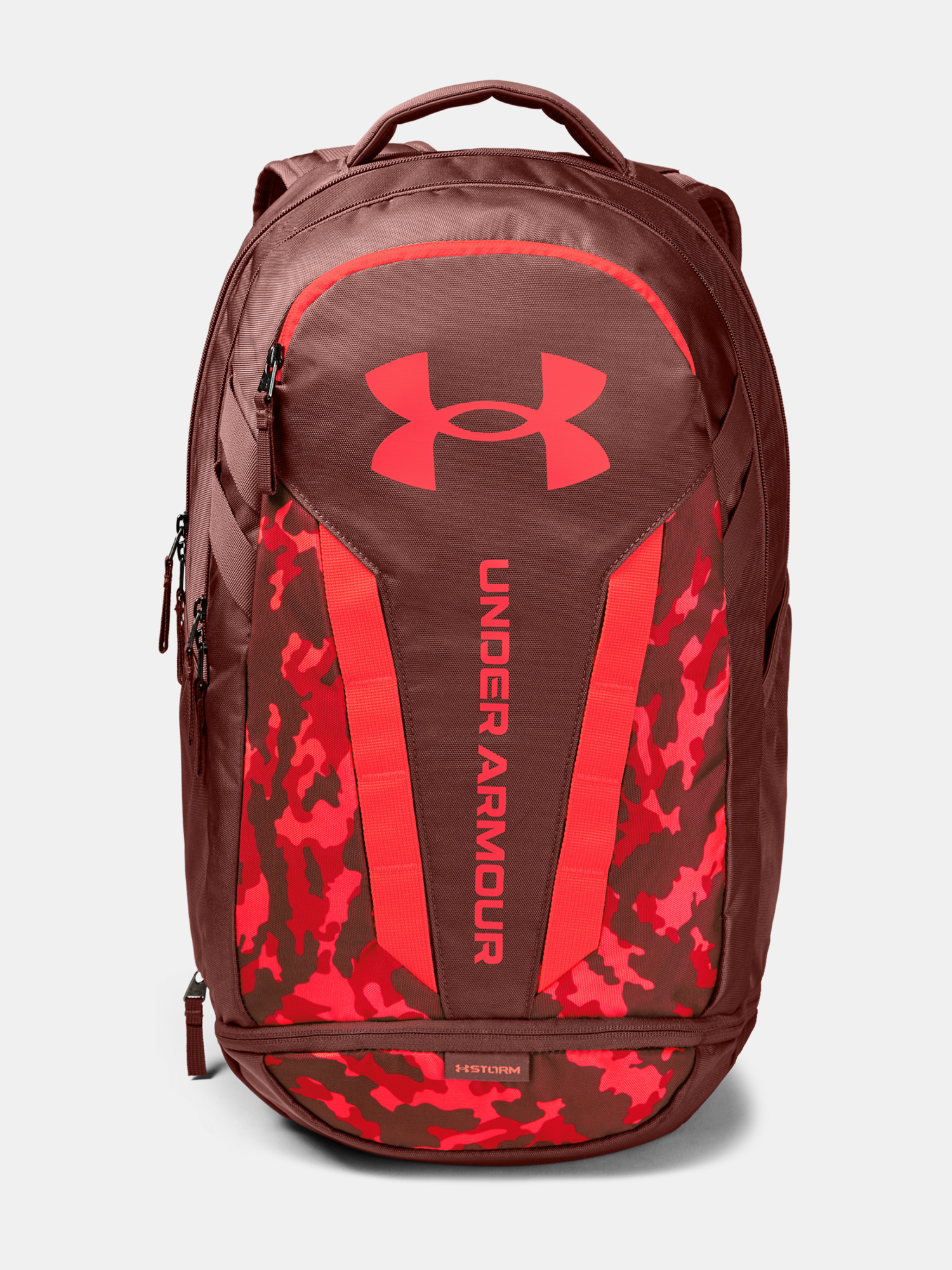 Batoh Under Armour UA Hustle 5.0 Backpack-RED (1)