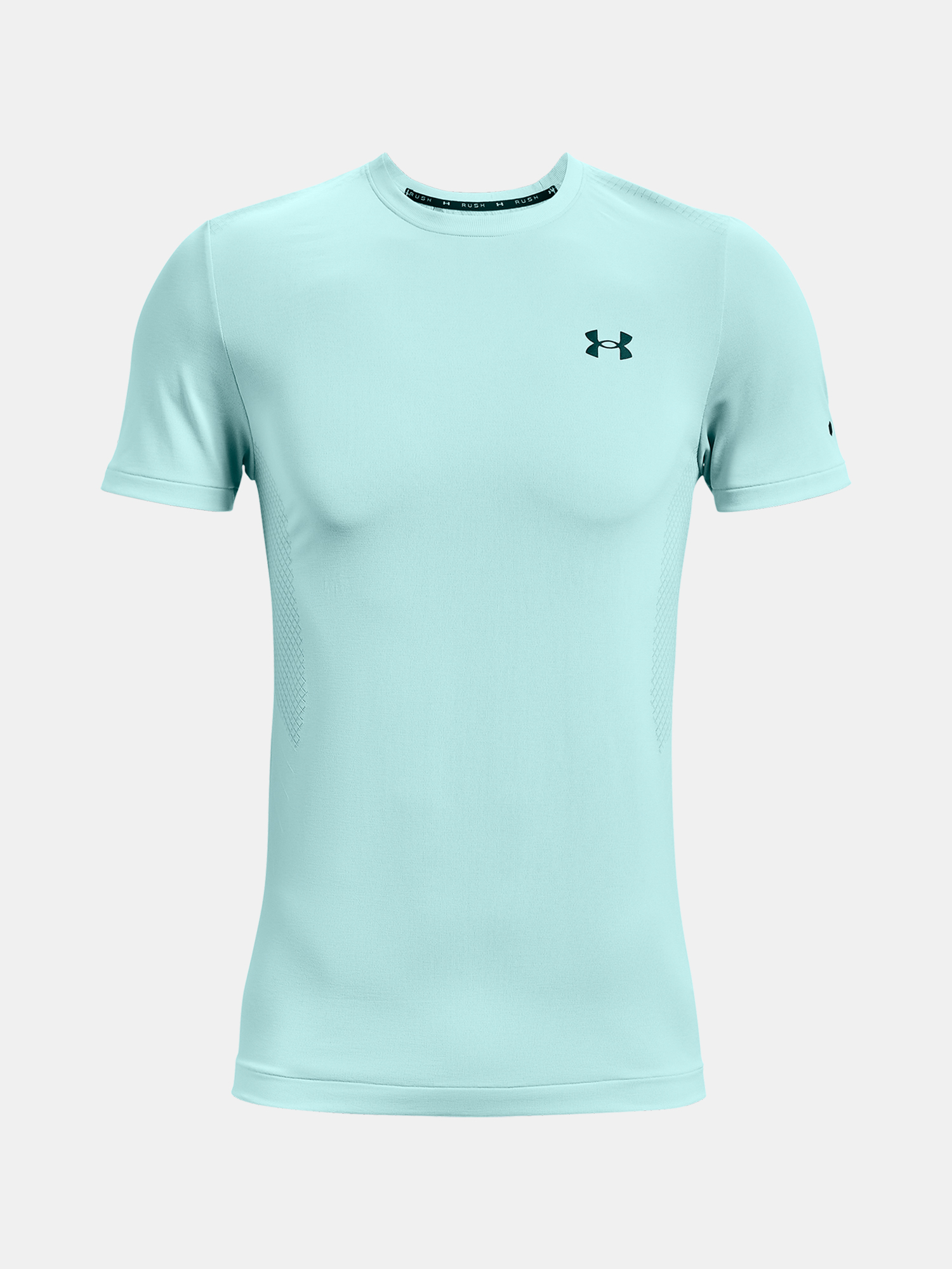 Tričko Under Armour UA Rush Seamless SS-BLU (3)