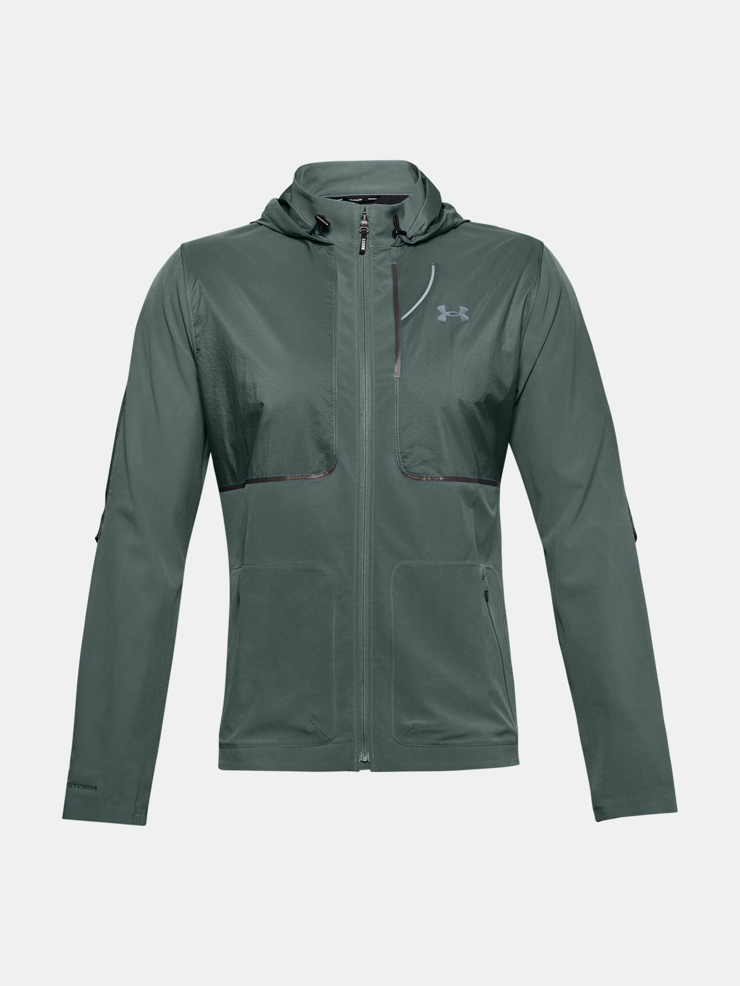 Bunda Under Armour UA Q. STORM Speedpocket Jkt-BLU (3)