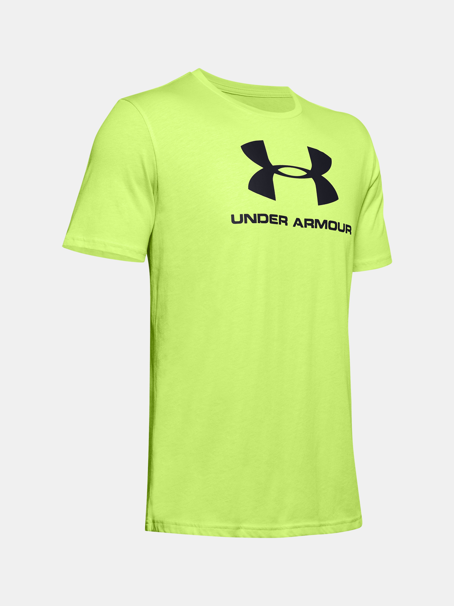 Tričko Under Armour SPORTSTYLE LOGO SS-GRN (3)
