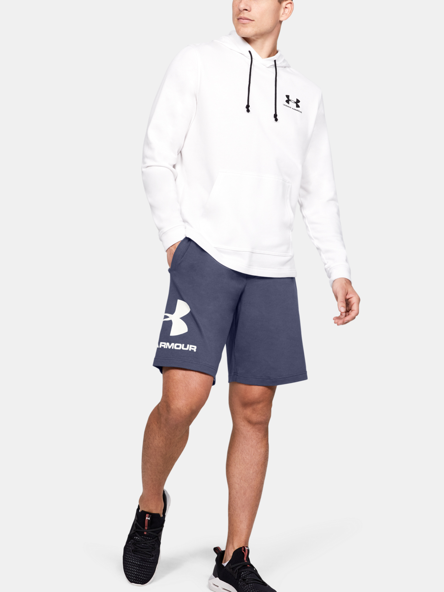 Kraťasy Under Armour Cotton Big Logo Shorts (4)