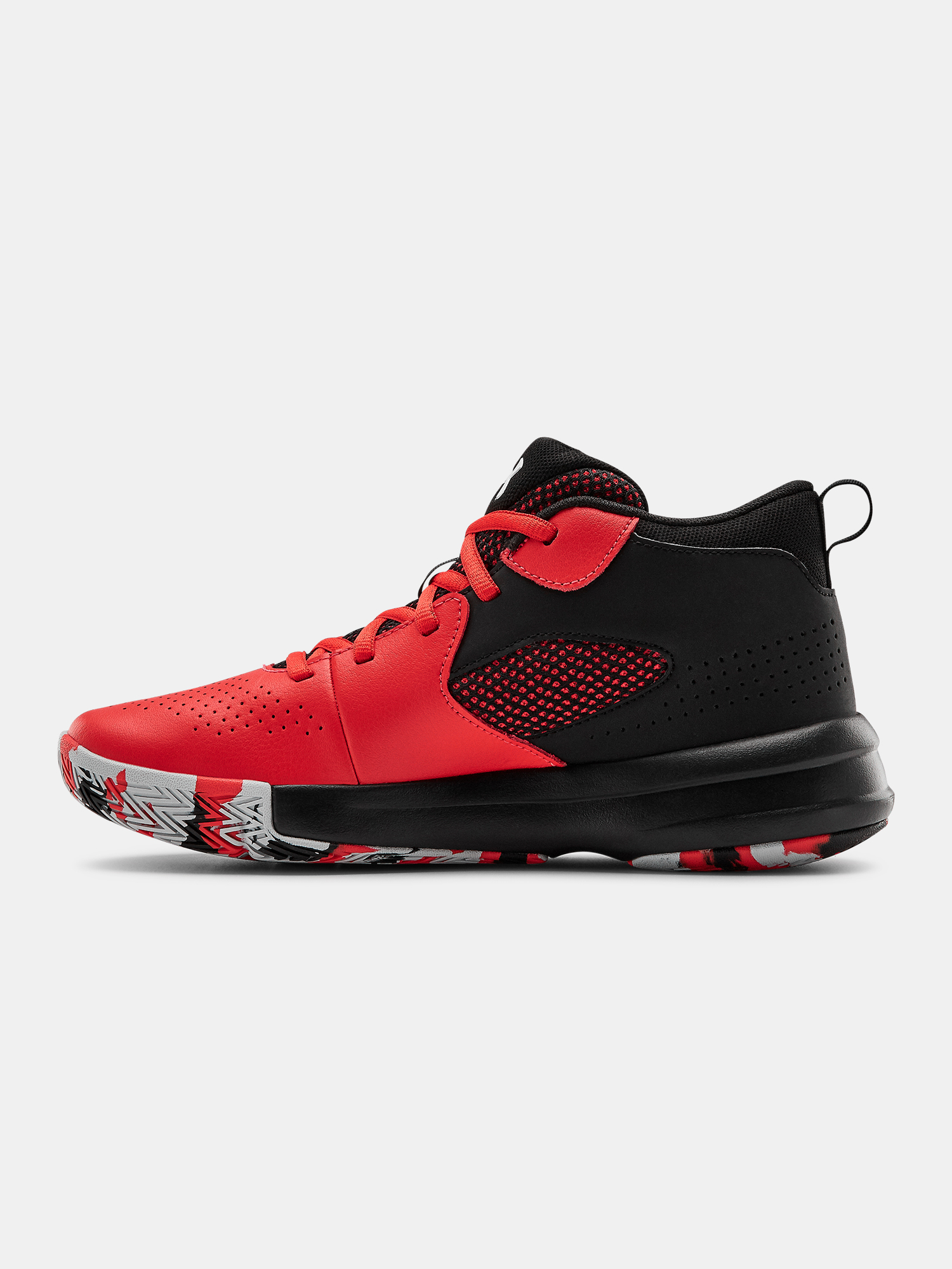 Topánky Under Armour UA GS Lockdown 5-RED (2)