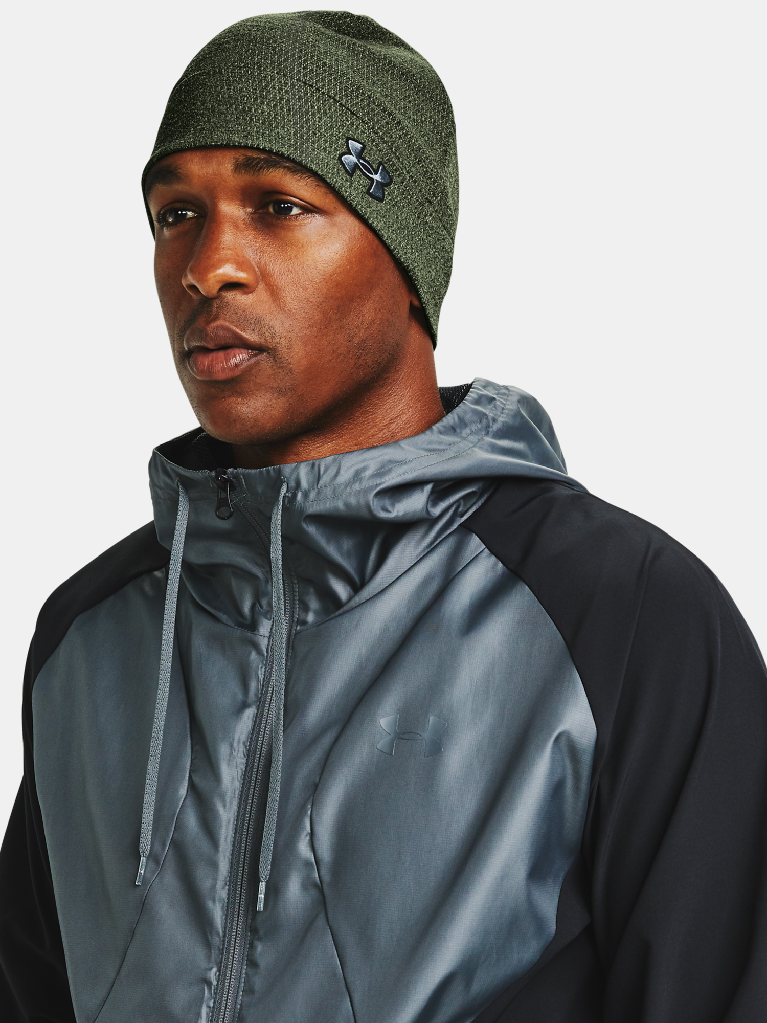 Čapica Under Armour M Storm Beanie-GRN (1)