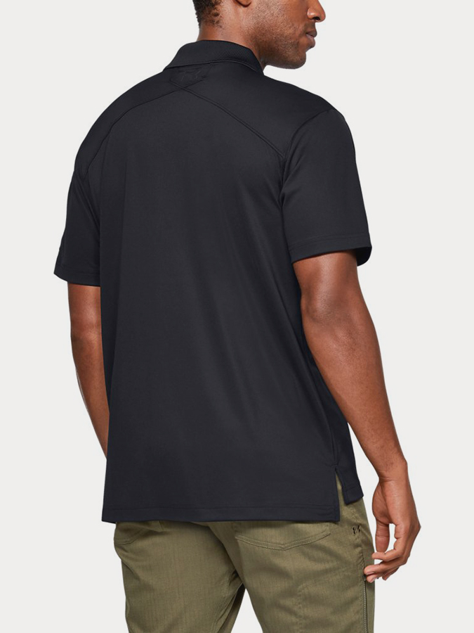 Triko Under Armour TAC PERFORMANCE POLO-BLK (2)