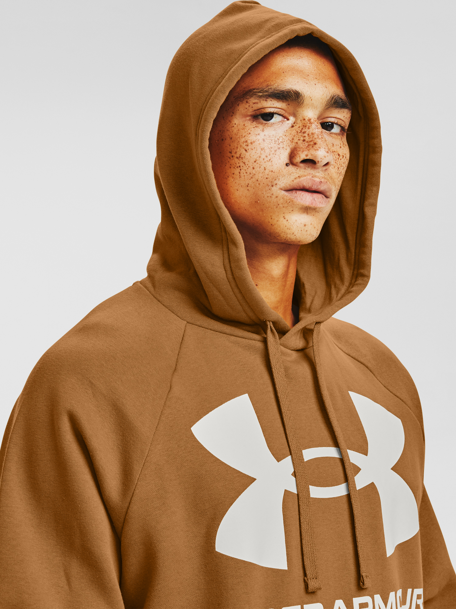 Mikina Under Armour Rival Fleece Big Logo HD-YLW (5)
