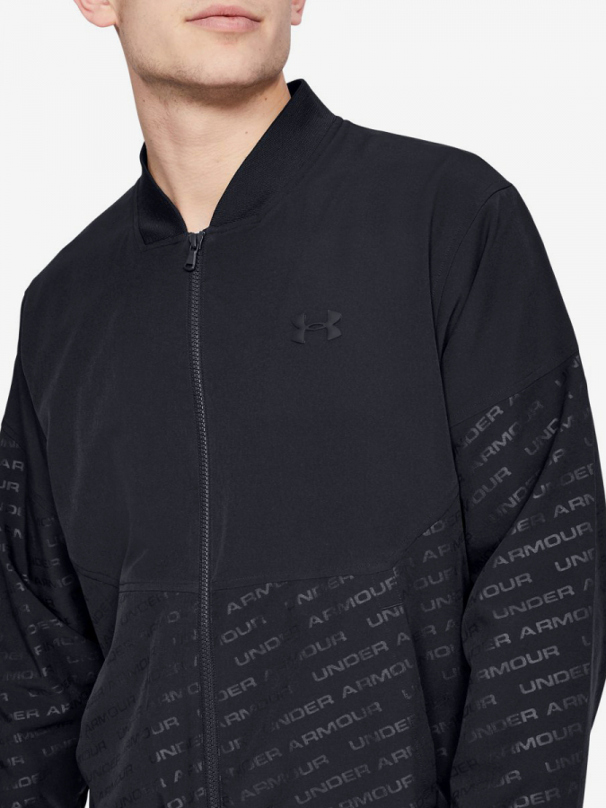 Bunda Under Armour Unstoppable Emboss Bomber-Blk (6)