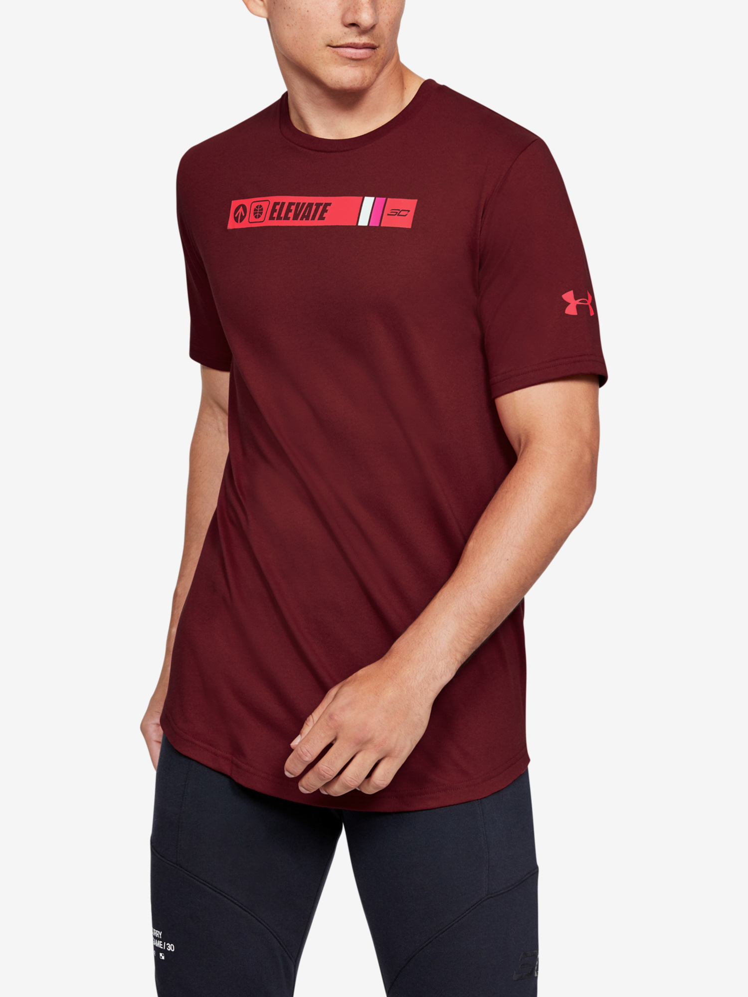 Tričko Under Armour Sc30 Ss Elevated Tee (1)