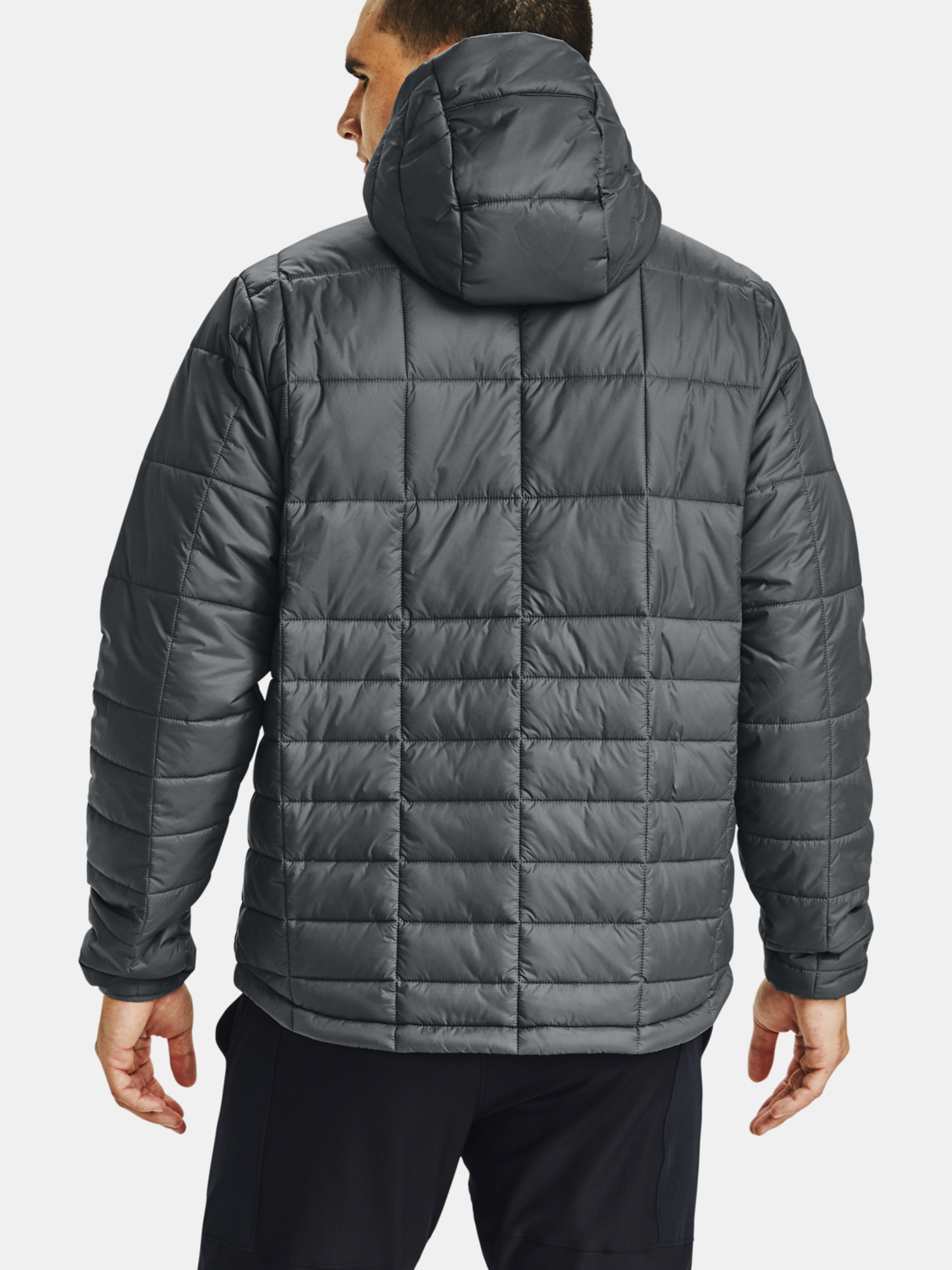 Bunda Under Armour UA Armour Insulated Hooded Jkt-GRY (2)