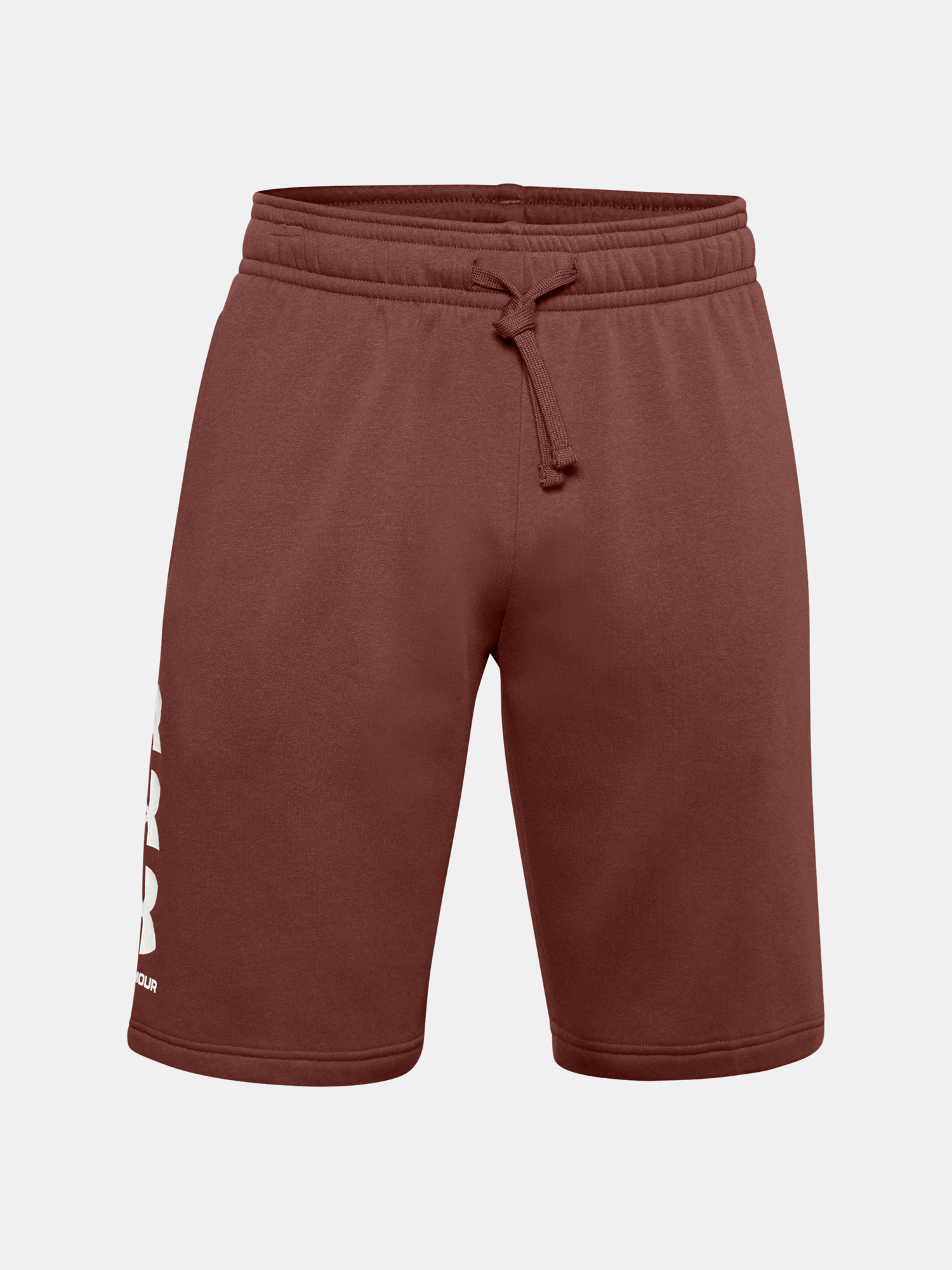 Kraťasy Under Armour UA Rival Flc Multilogo Short-RED (1)