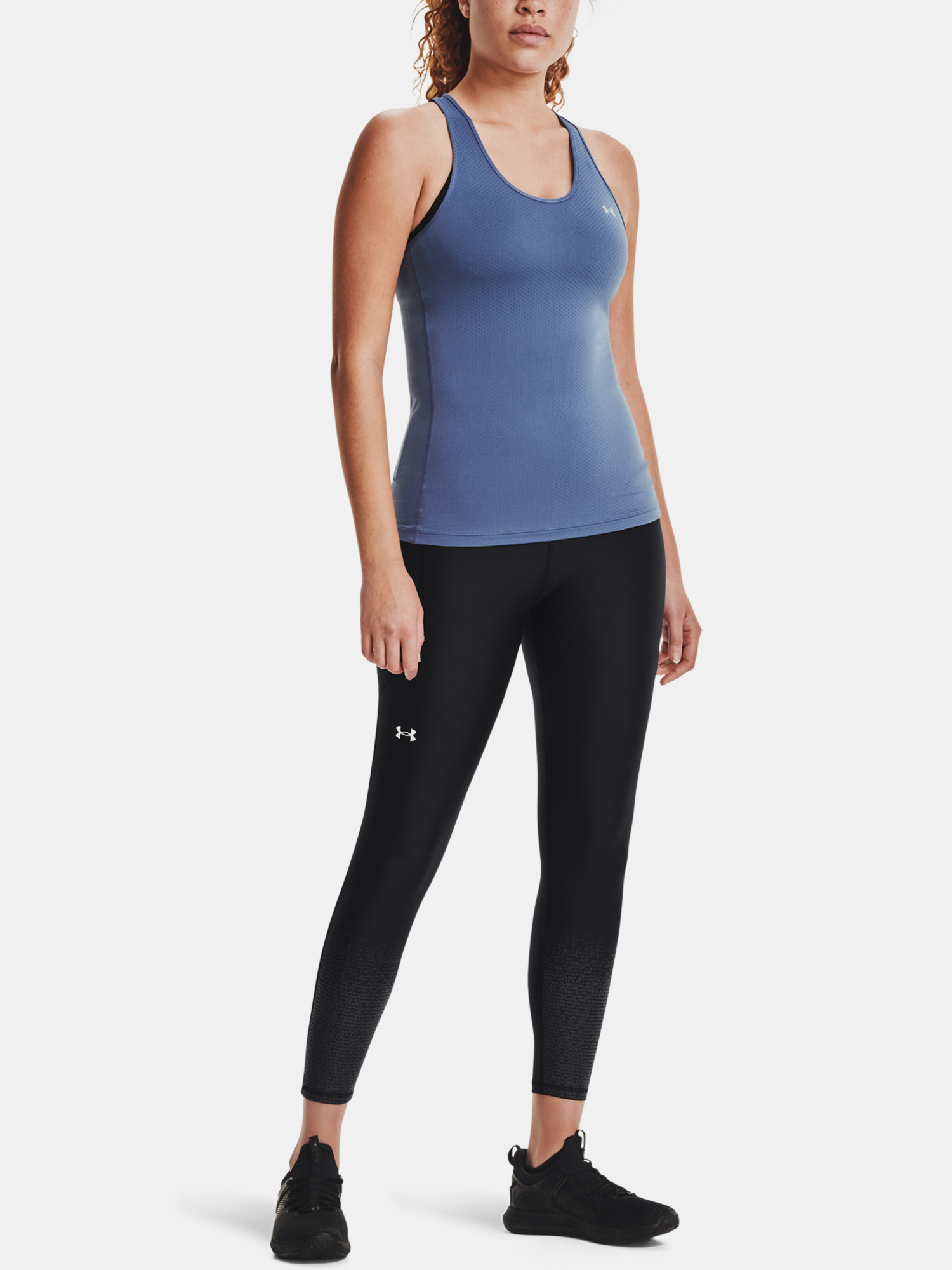 Tielko Under Armour UA HG Armour Racer Tank-BLU (6)